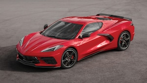 2020 Chevrolet Corvette Front Three Quarter 2