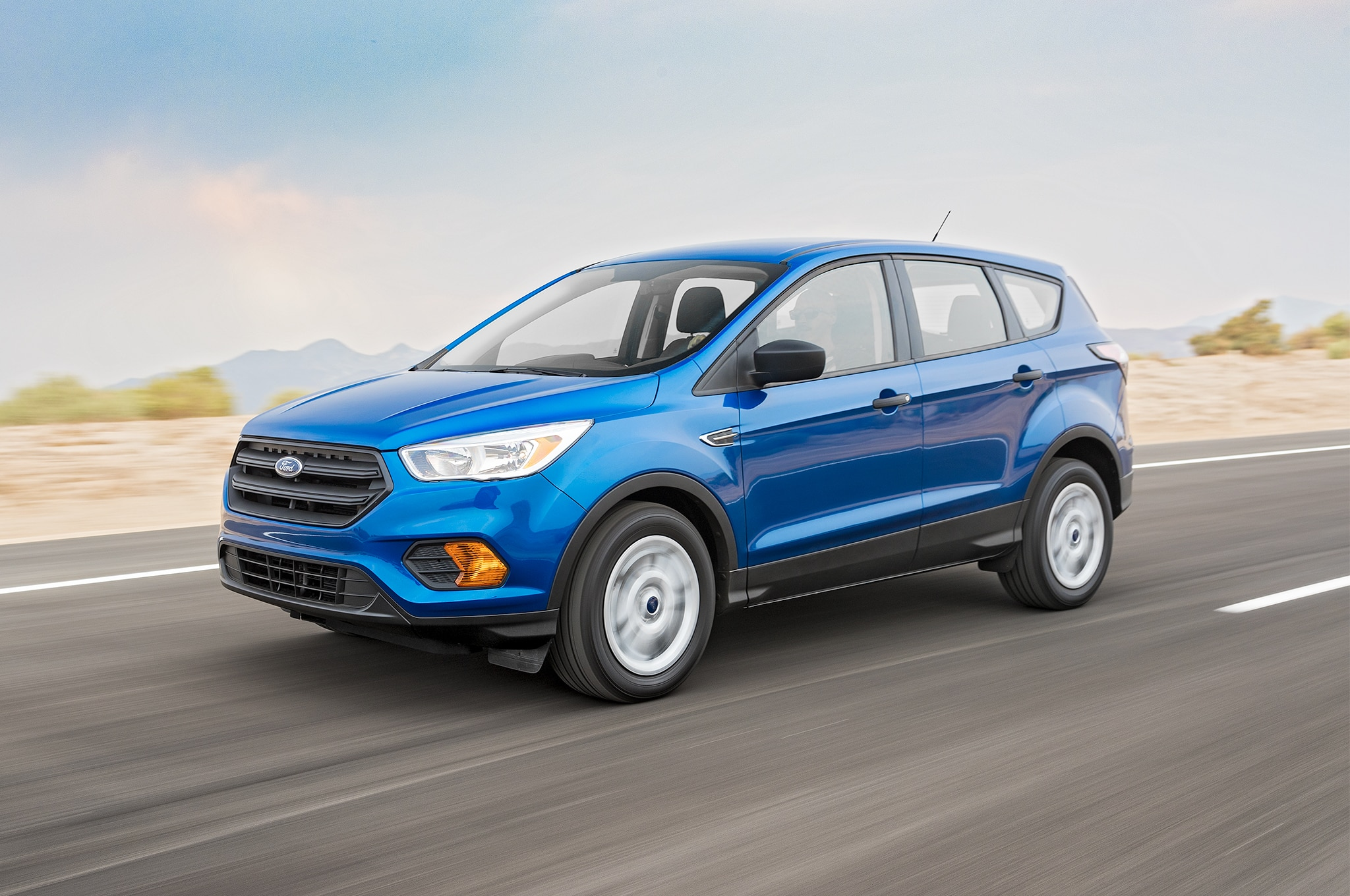 2017 Ford Escape SE EcoBoost Front Three Quarter In Motion