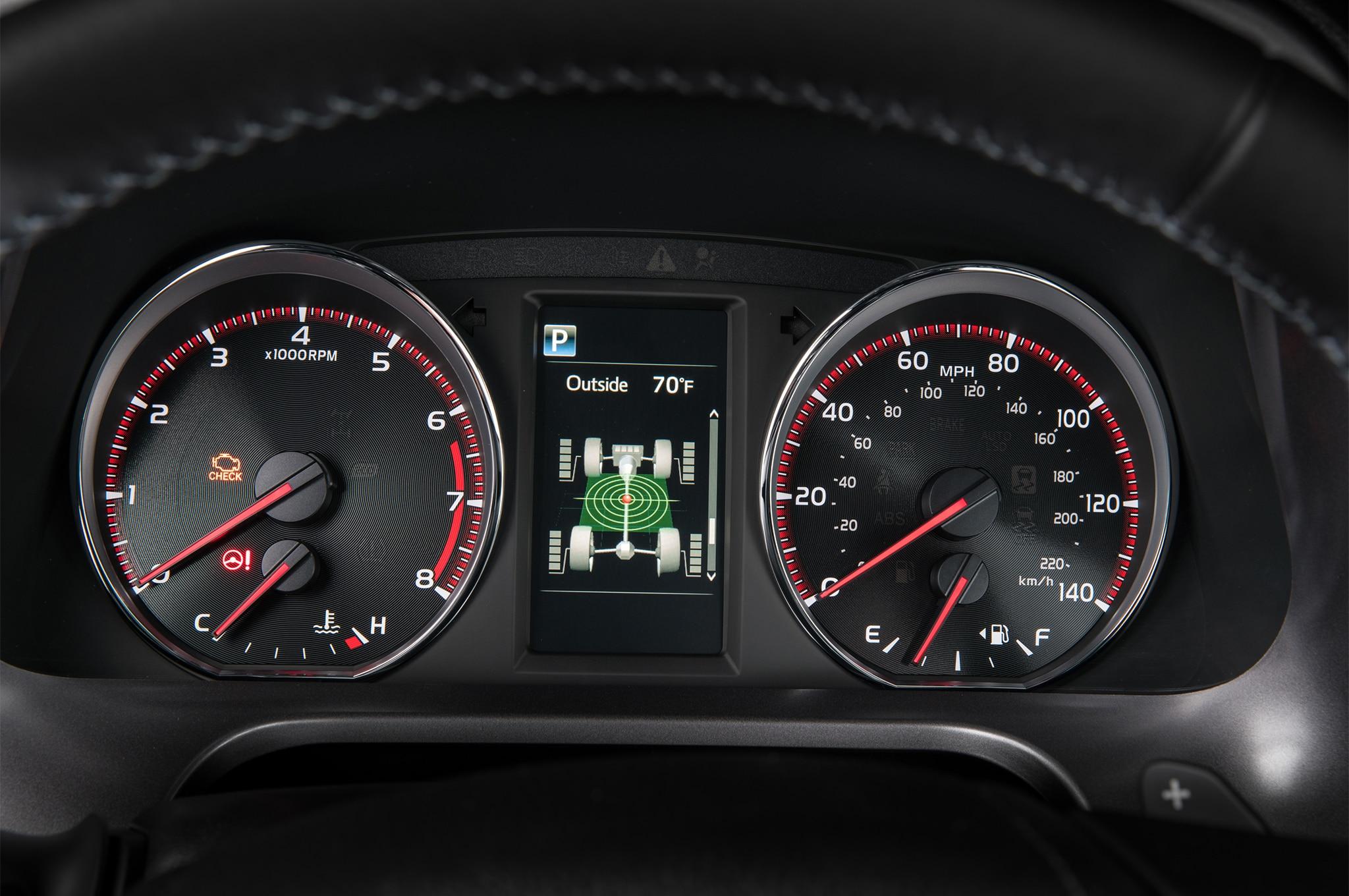 2017 Toyota Rav4 Se Instrument Panel Motor Trend En Espa 241 Ol