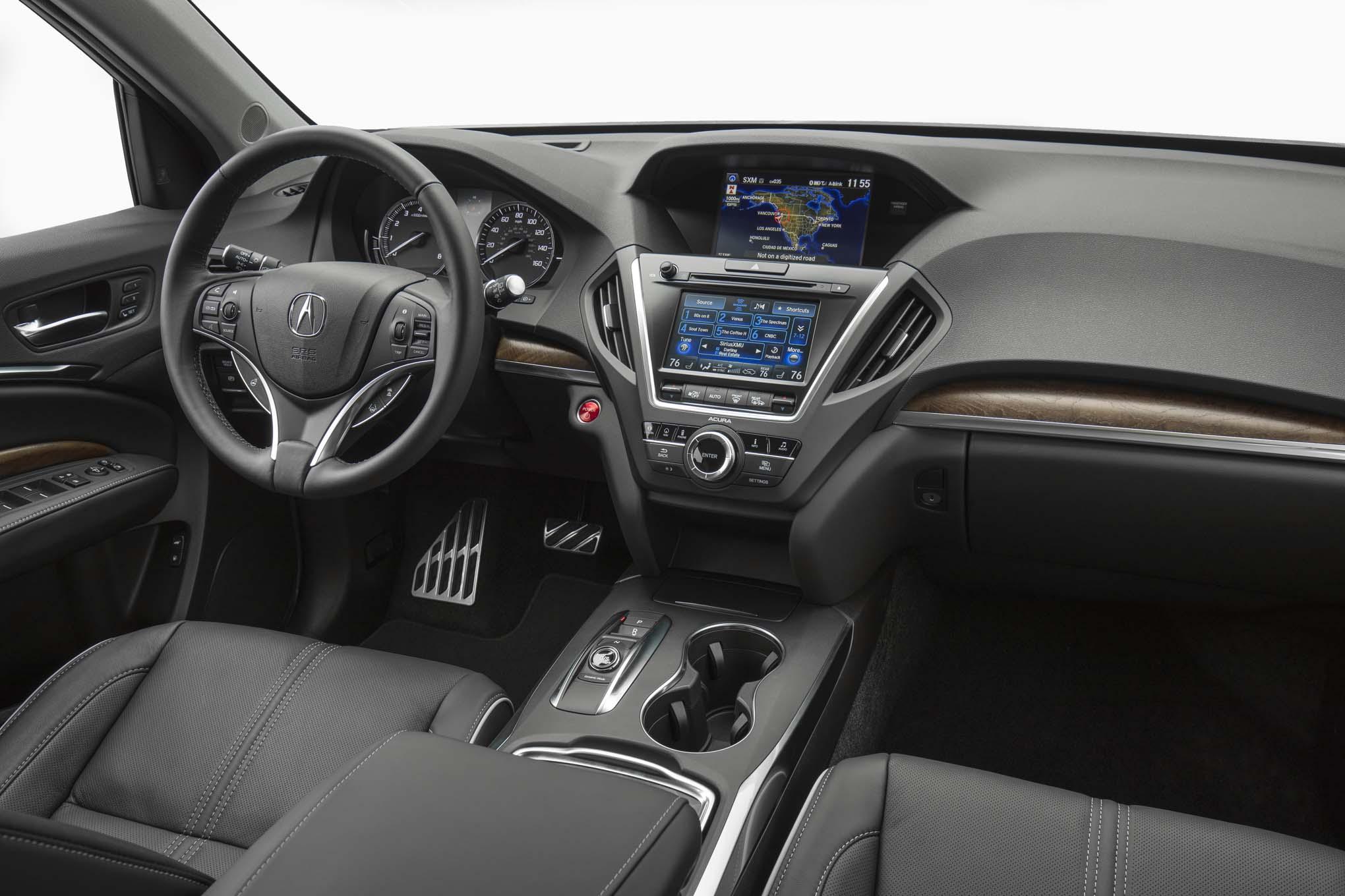 2017 Acura MDX Hybrid Interior View 04. 25 Julio, 2017 Miguel Cortina