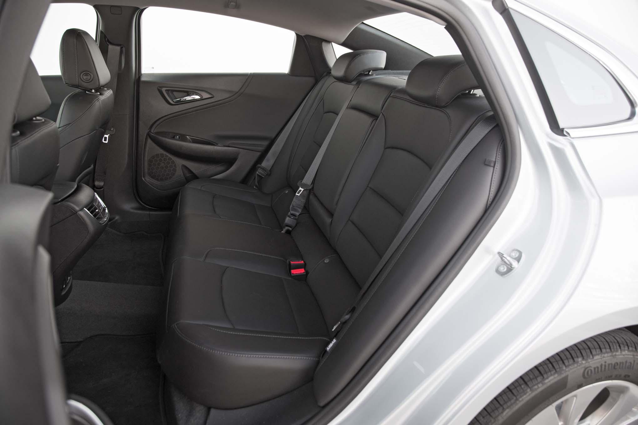 2017 Chevrolet Malibu 20t Premier Rear Interior Seats 4 Agosto Miguel Cortina