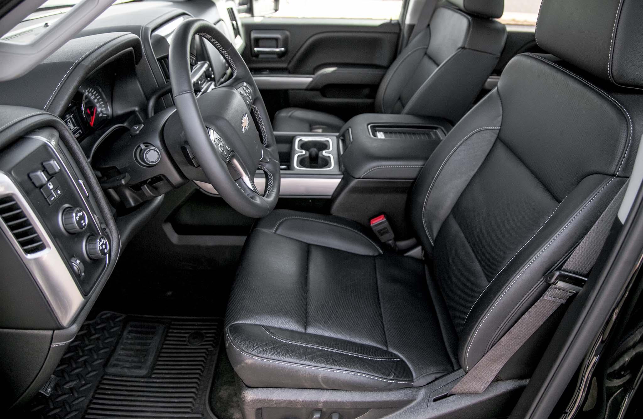 Chevrolet Silverado 2500HD 4WD Z71 LTZ 2017: Primera ...