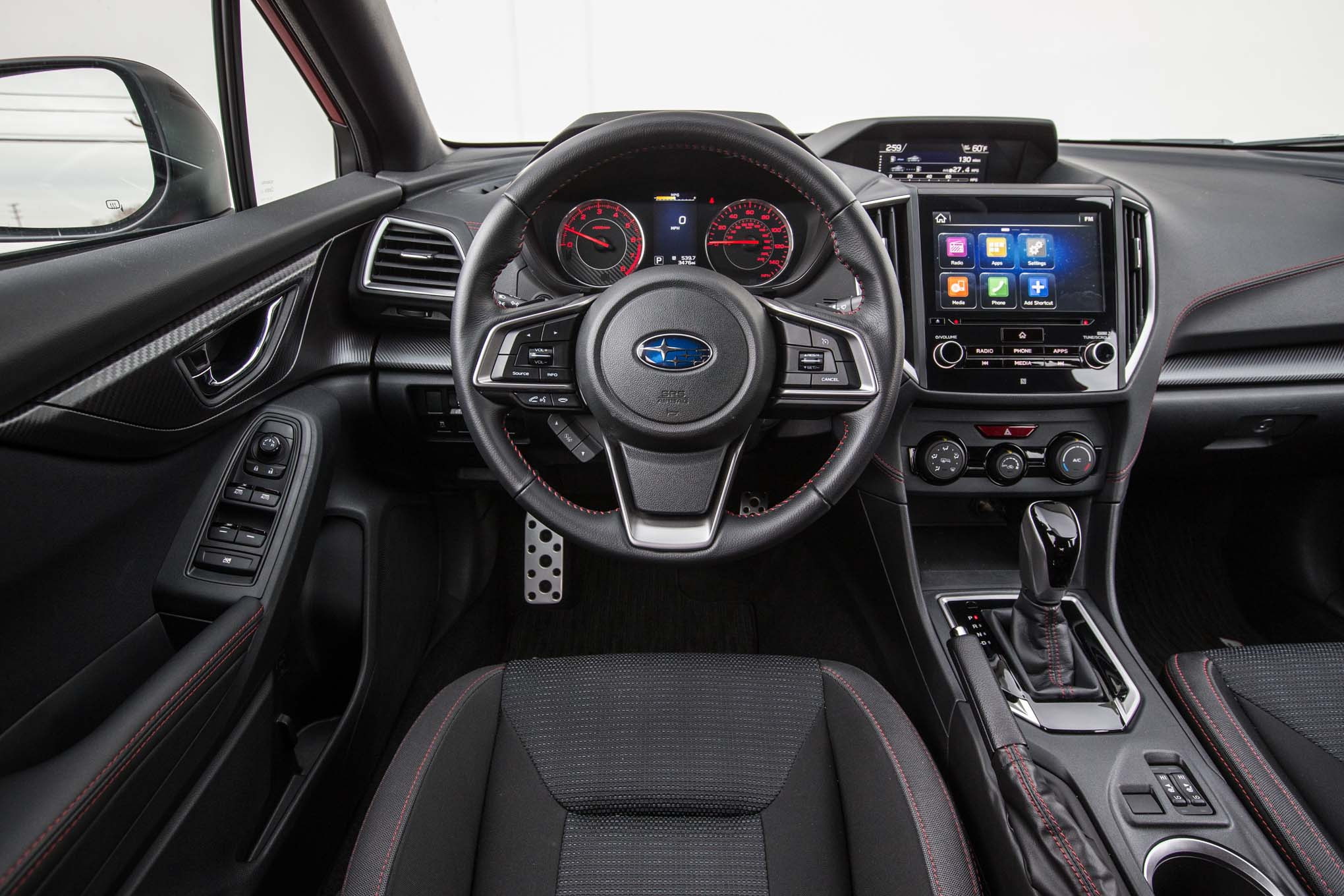 2017 subaru impreza 20i sport cockpit motor trend en espa ol. Black Bedroom Furniture Sets. Home Design Ideas