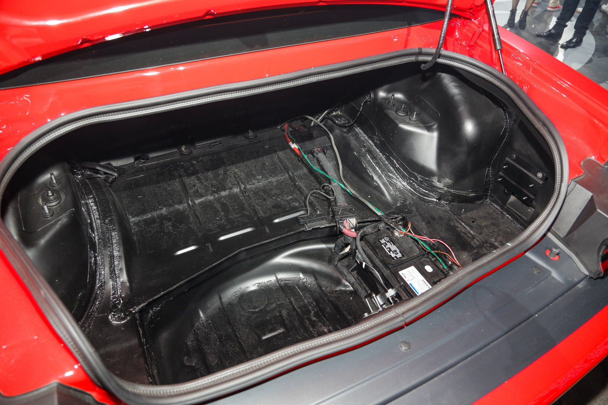 2018 Dodge Challenger Srt Demon Trunk 1 Motor Trend En Espa 241 Ol