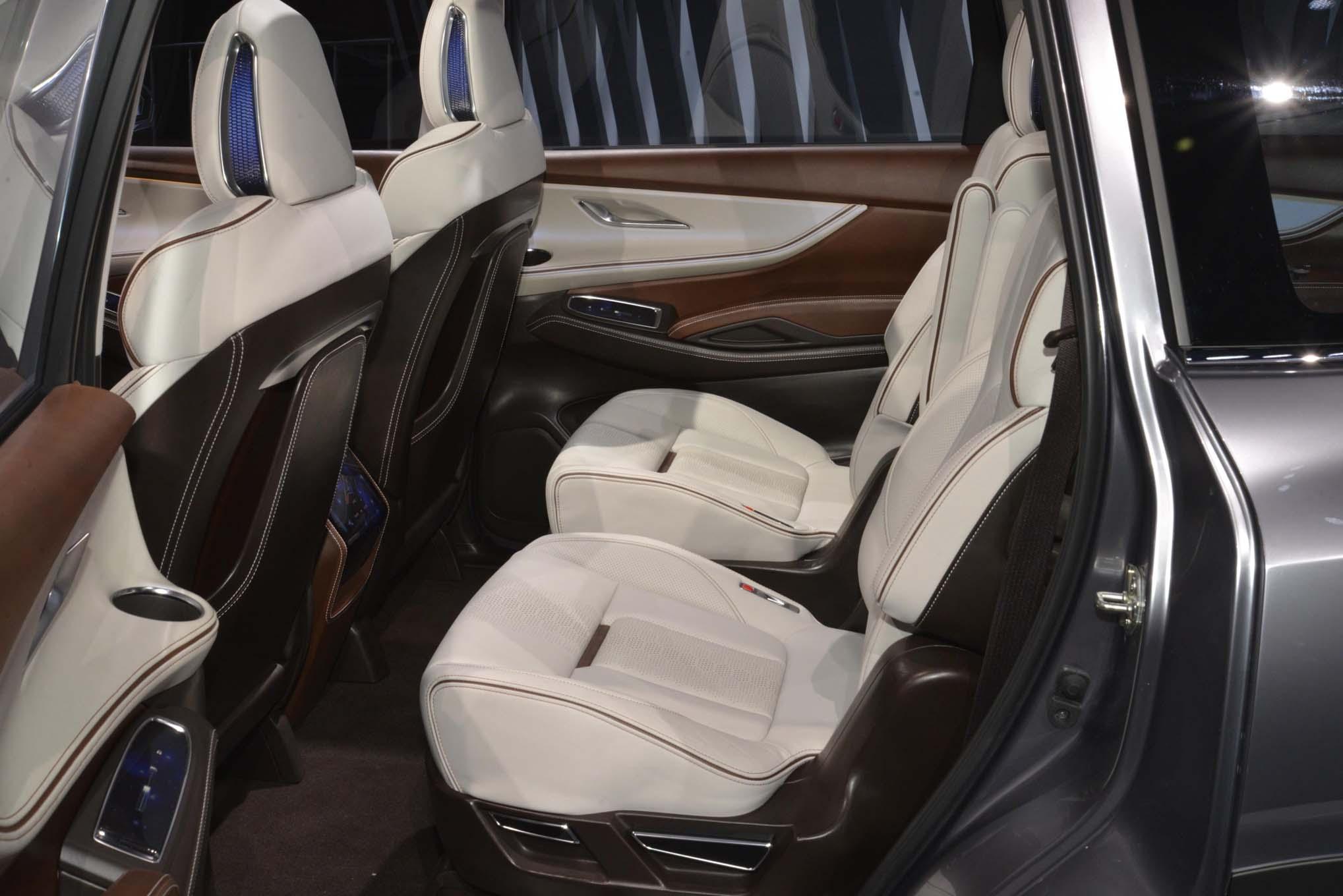 2019 Subaru Ascent Rear Interior Seats Motor Trend En