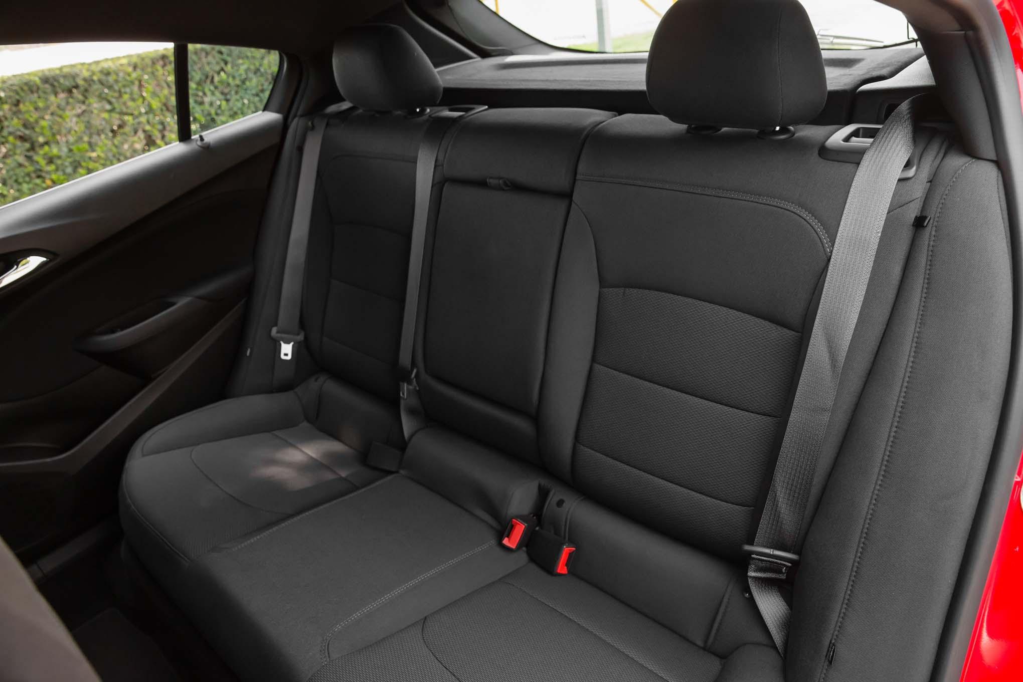 2017 Chevrolet Cruze Lt Hatchback Rear Interior Seats 16 Octubre Miguel Cortina