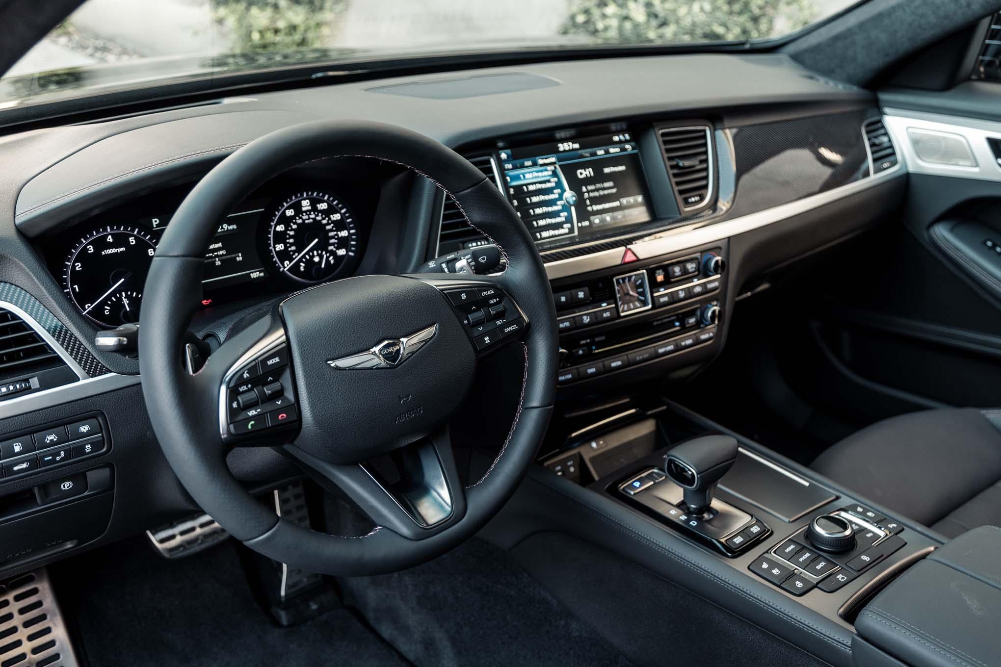 2018 Genesis G80 Sport Interior View Motor Trend En Espa 241 Ol