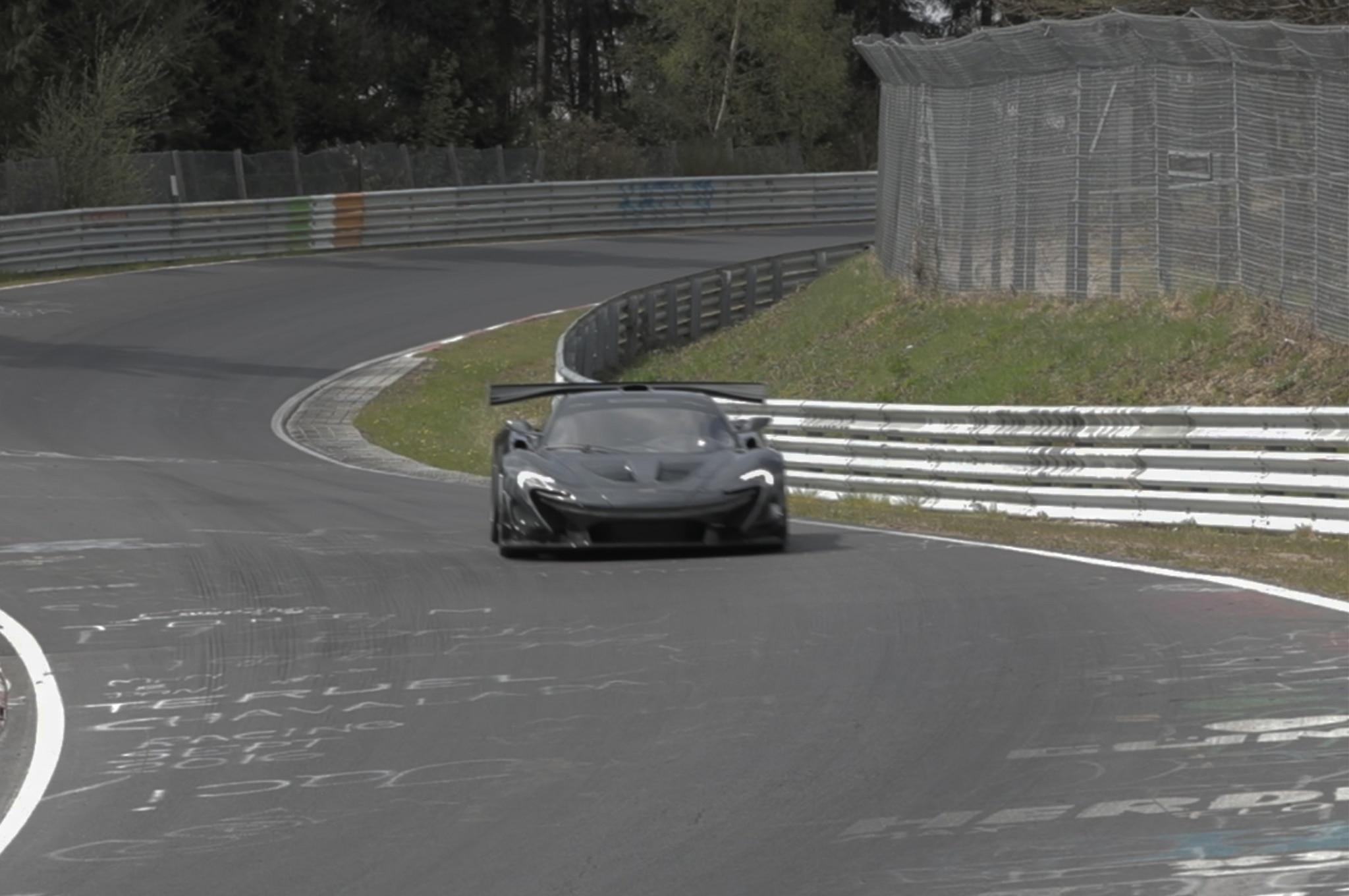 McLaren P1 LM Lanzante Track Drive