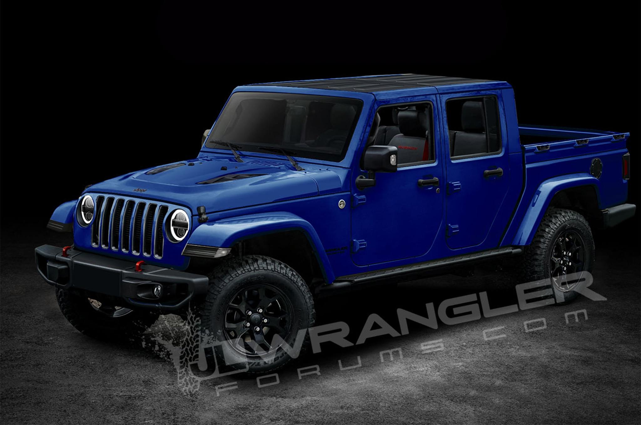 ¿Así podría ser la próxima camioneta Jeep? - Motor Trend ...
