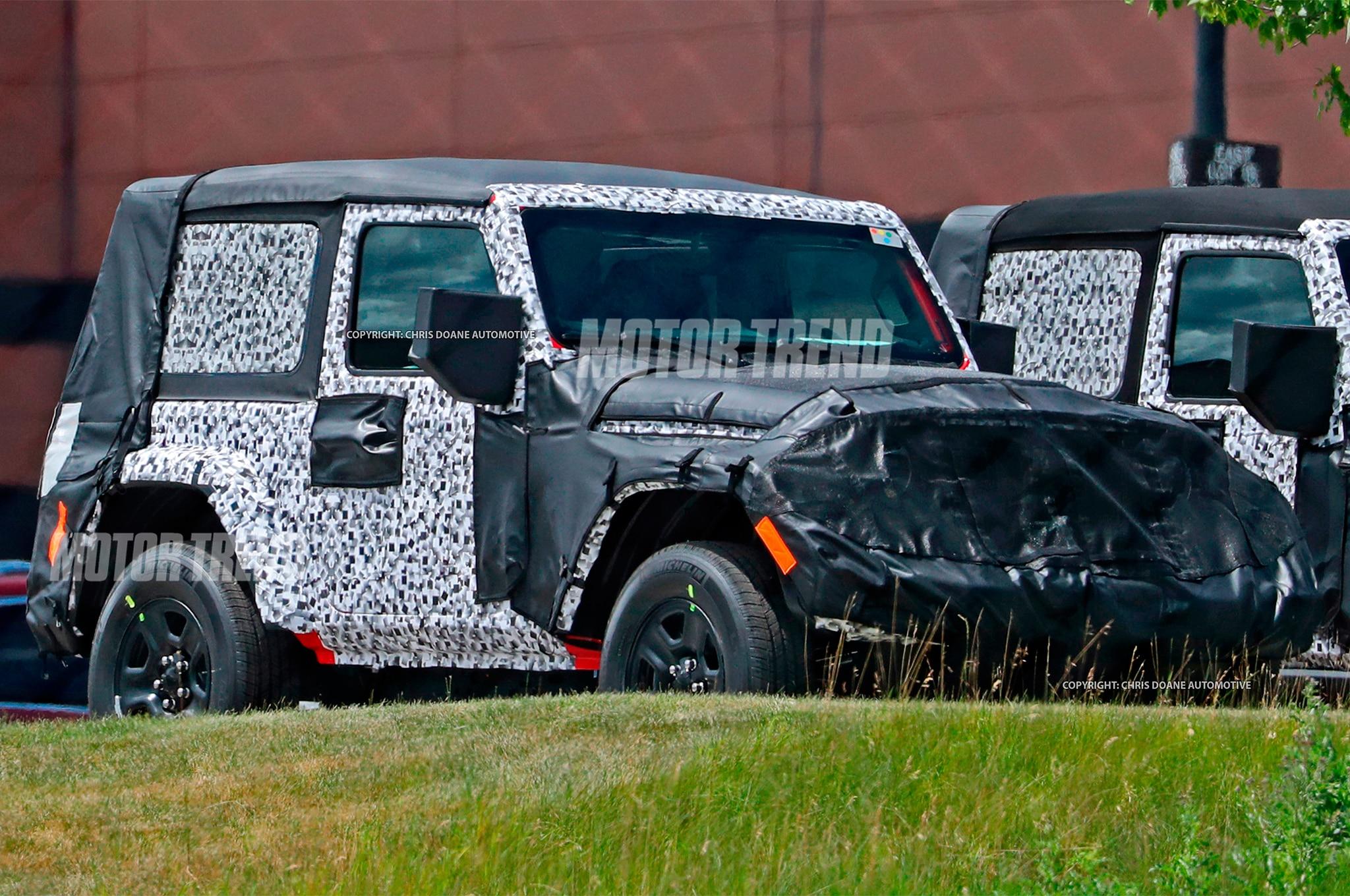Jeep Wrangler 2018 de dos puertas es captado - Motor Trend ...