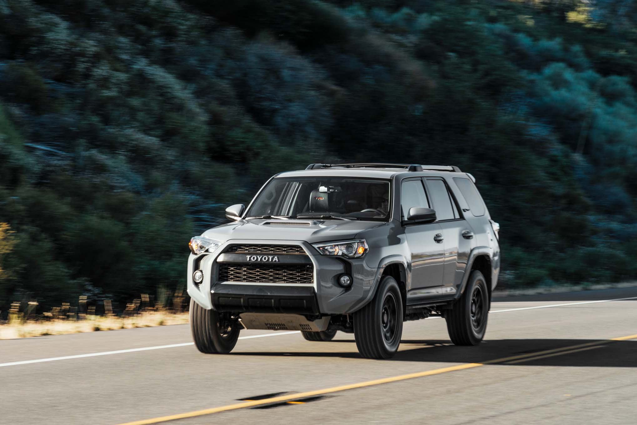 2017 Toyota 4runner Trd Pro Front End In Motion 3 Julio 2018 Miguel Cortina
