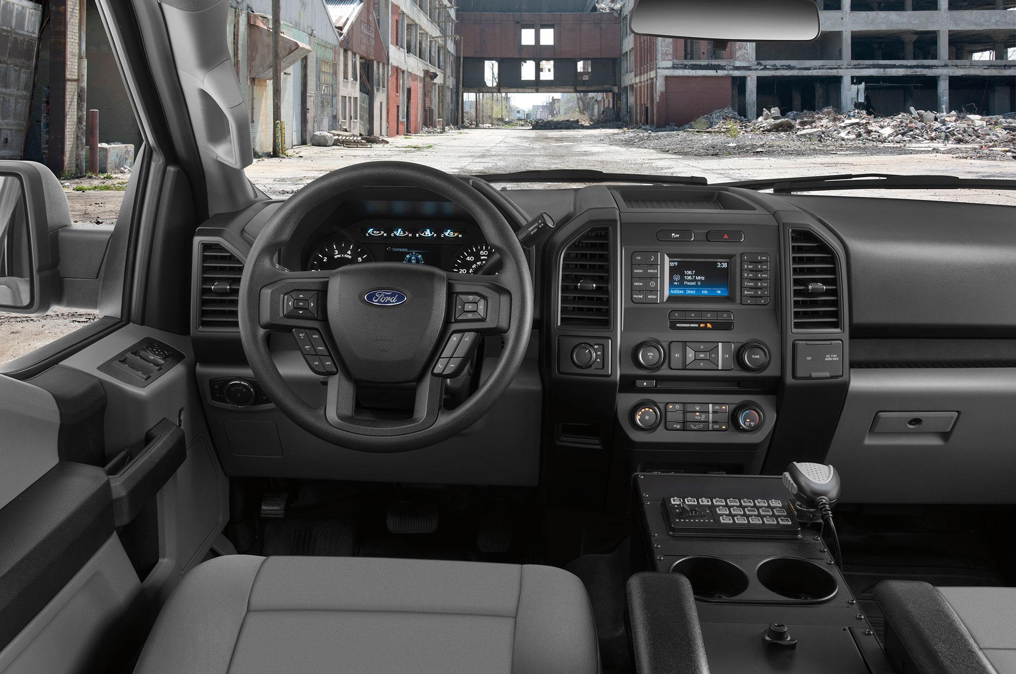 Ford F 150 Police Responder 2018 Lista Reforzar La Ley
