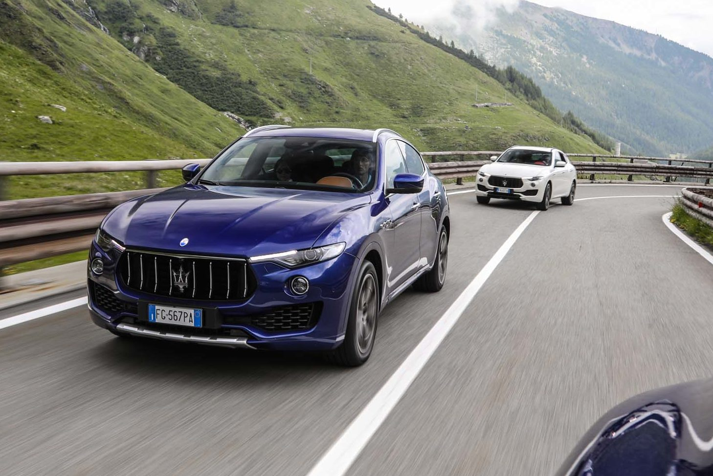 Maserati Levante At Acosta Valley Front Three Quarter In Motion 10 E1499713127867