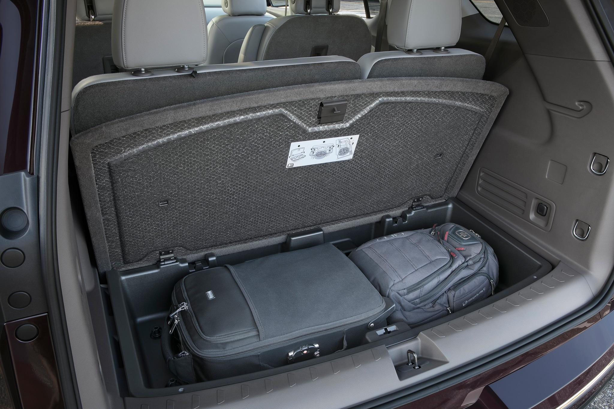 2018 Chevrolet Traverse cargo storage - Motor Trend en Español