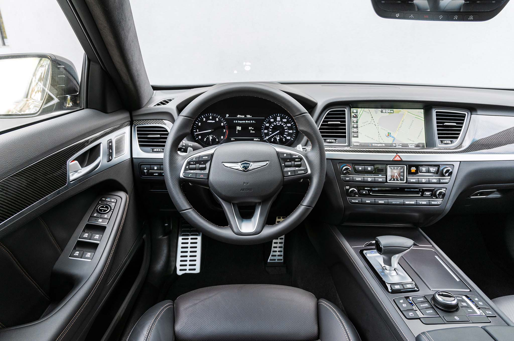 2018 Genesis G80 Sport Interior Motor Trend En Espa 241 Ol
