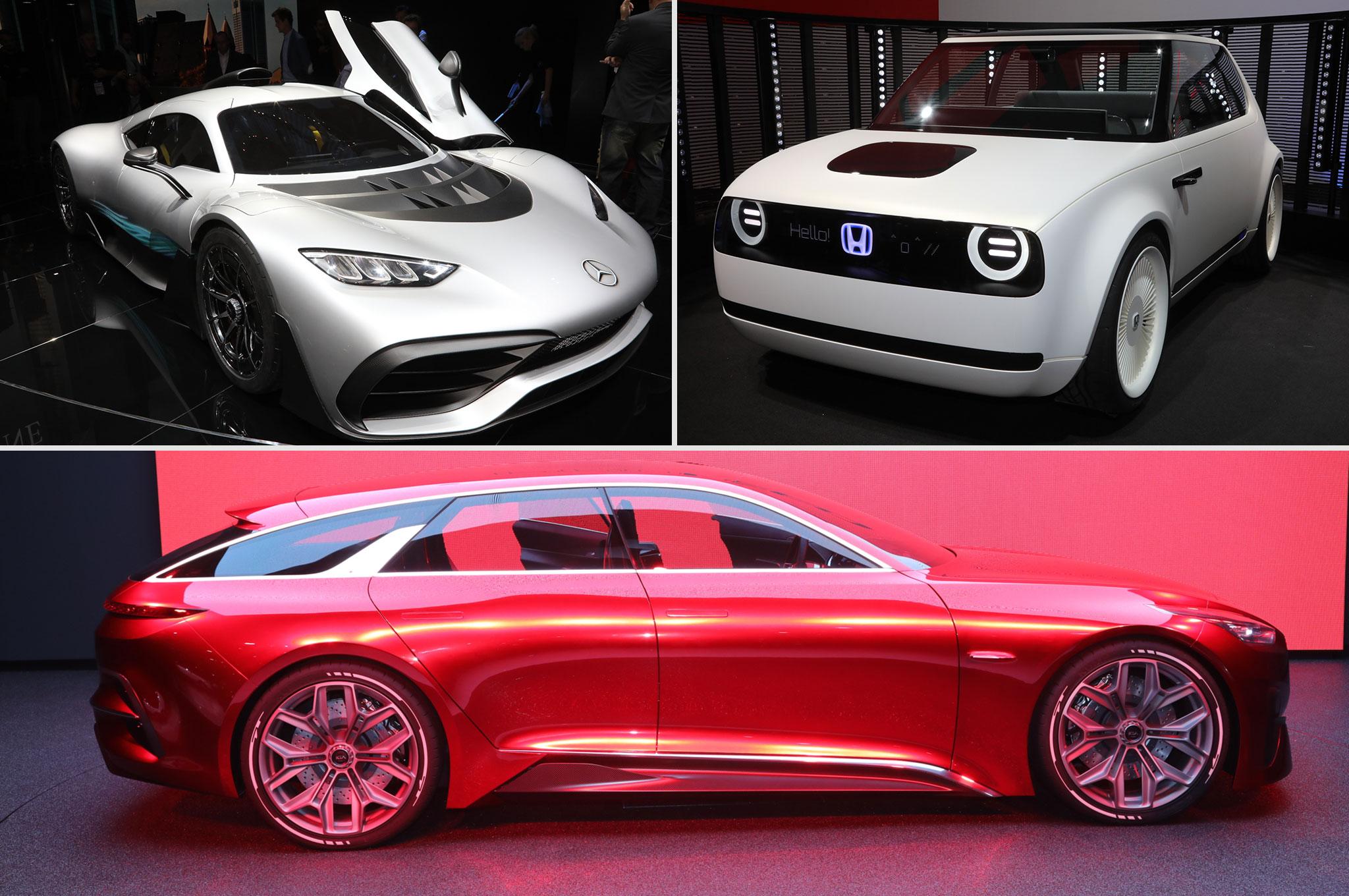 2017 Frankfurt Motor Show Best Cars Graphic