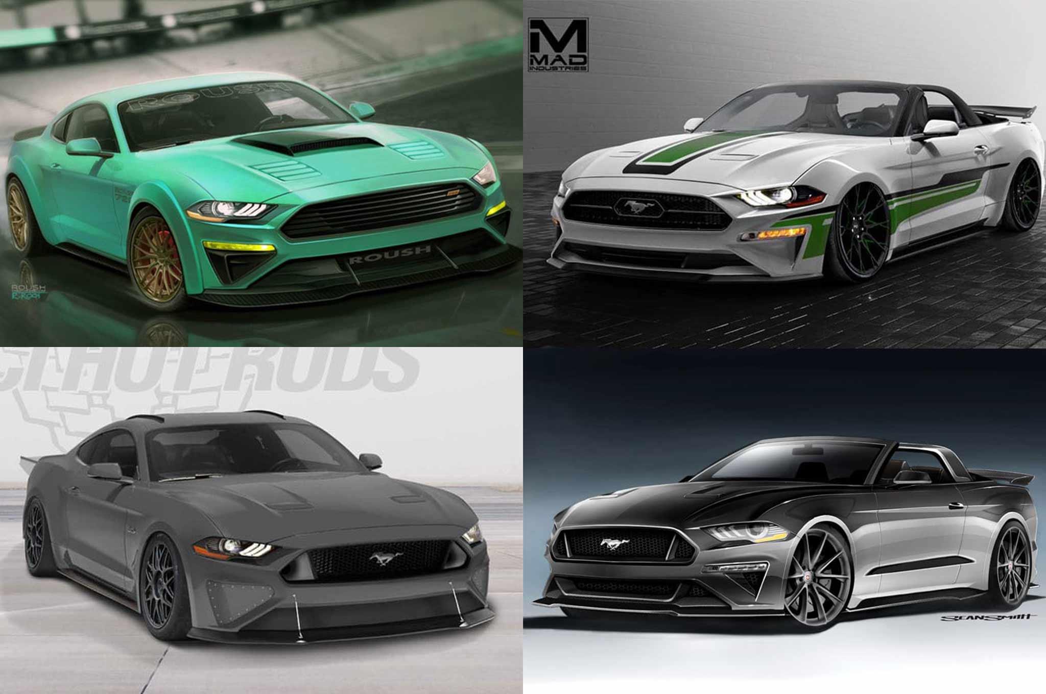 2017 SEMA Ford Mustang Show Cars