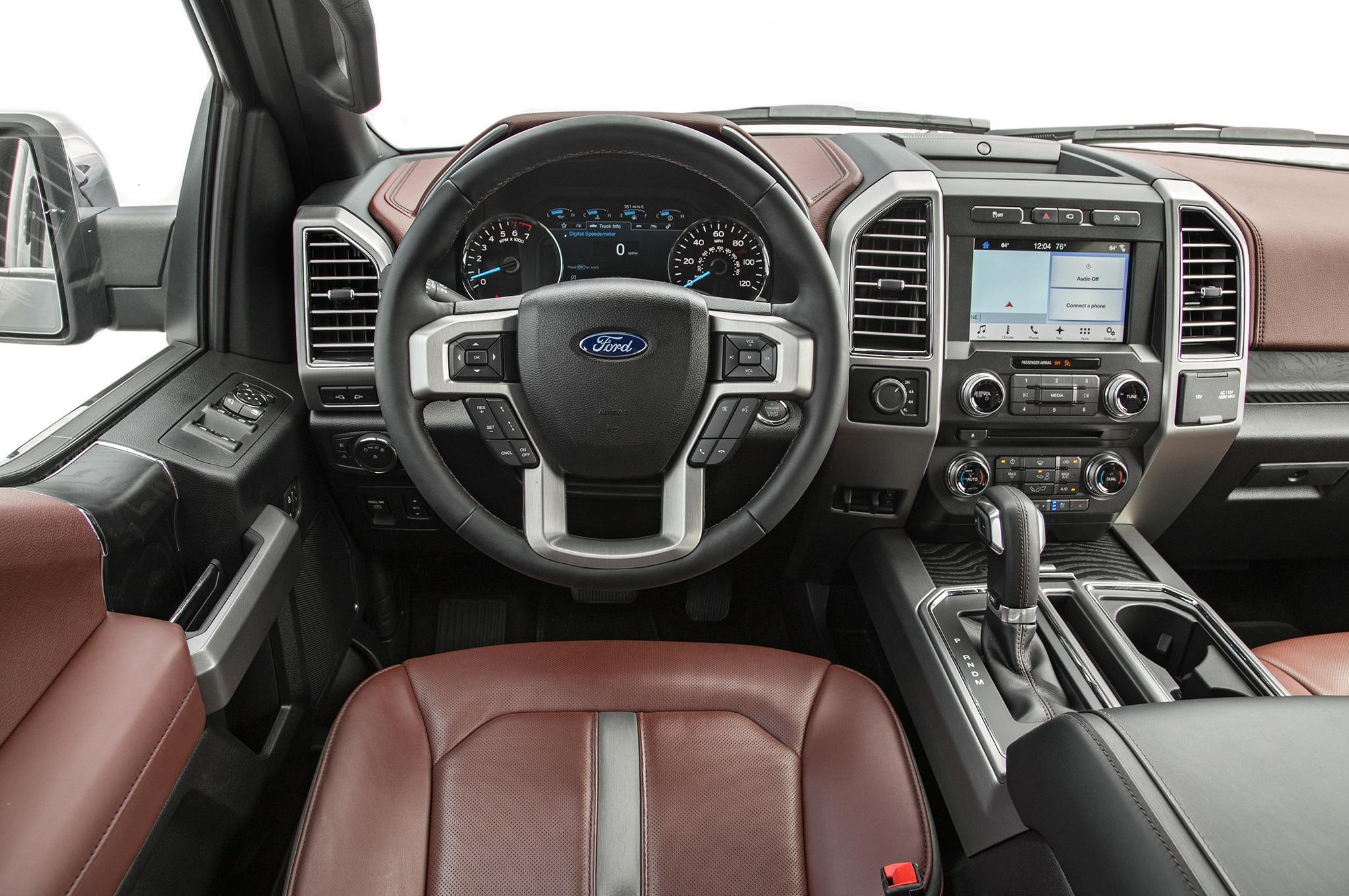 F 150 Raptor Interior >> Ford F-150 es la Camioneta del Año de Motor Trend 2018 - Motor Trend en Español