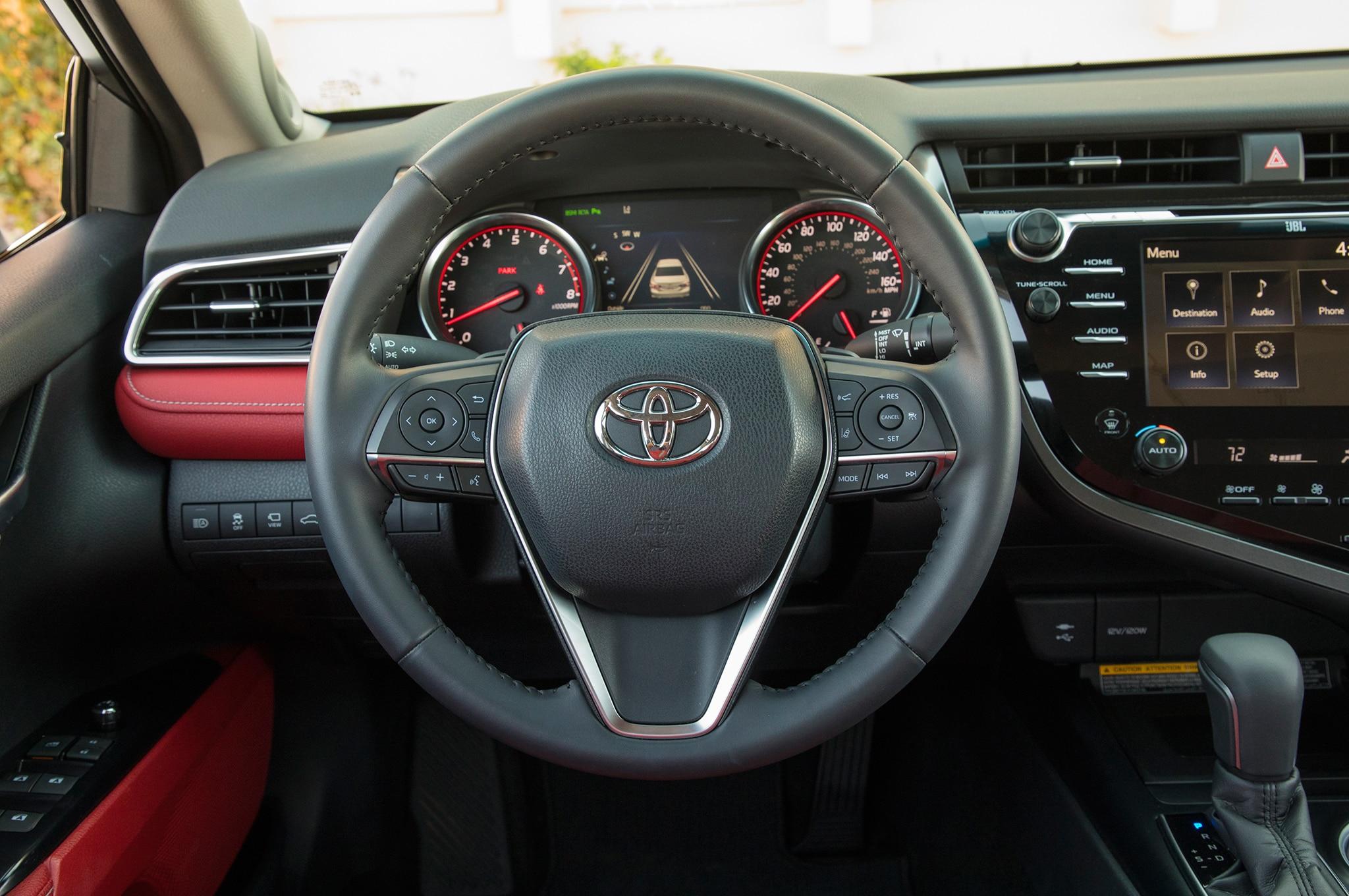 2018 Toyota Camry Xse Steering Wheel 9 Febrero Miguel Cortina