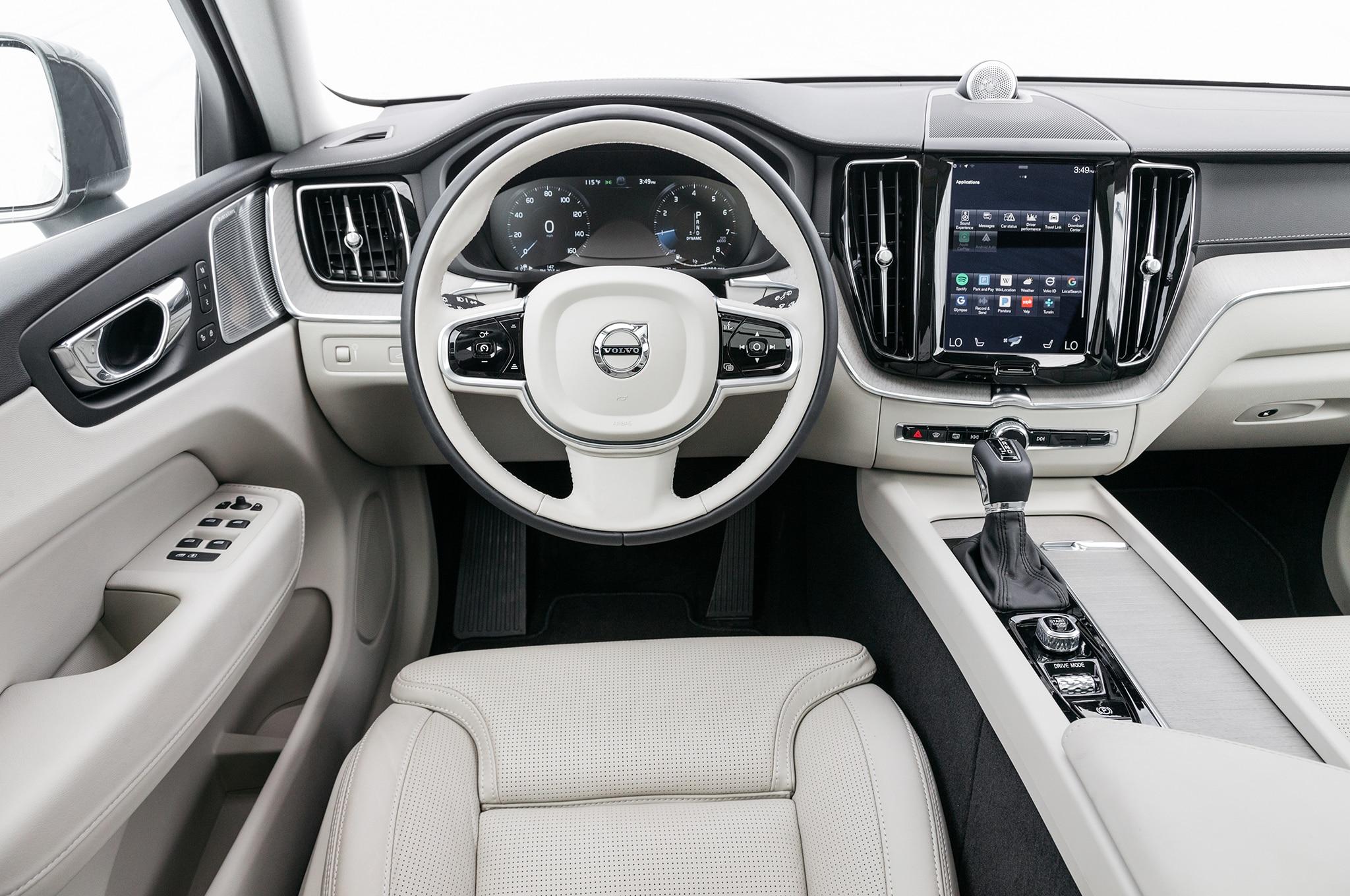 2018 Volvo Xc60 Interior Detail Motor Trend En Espanol