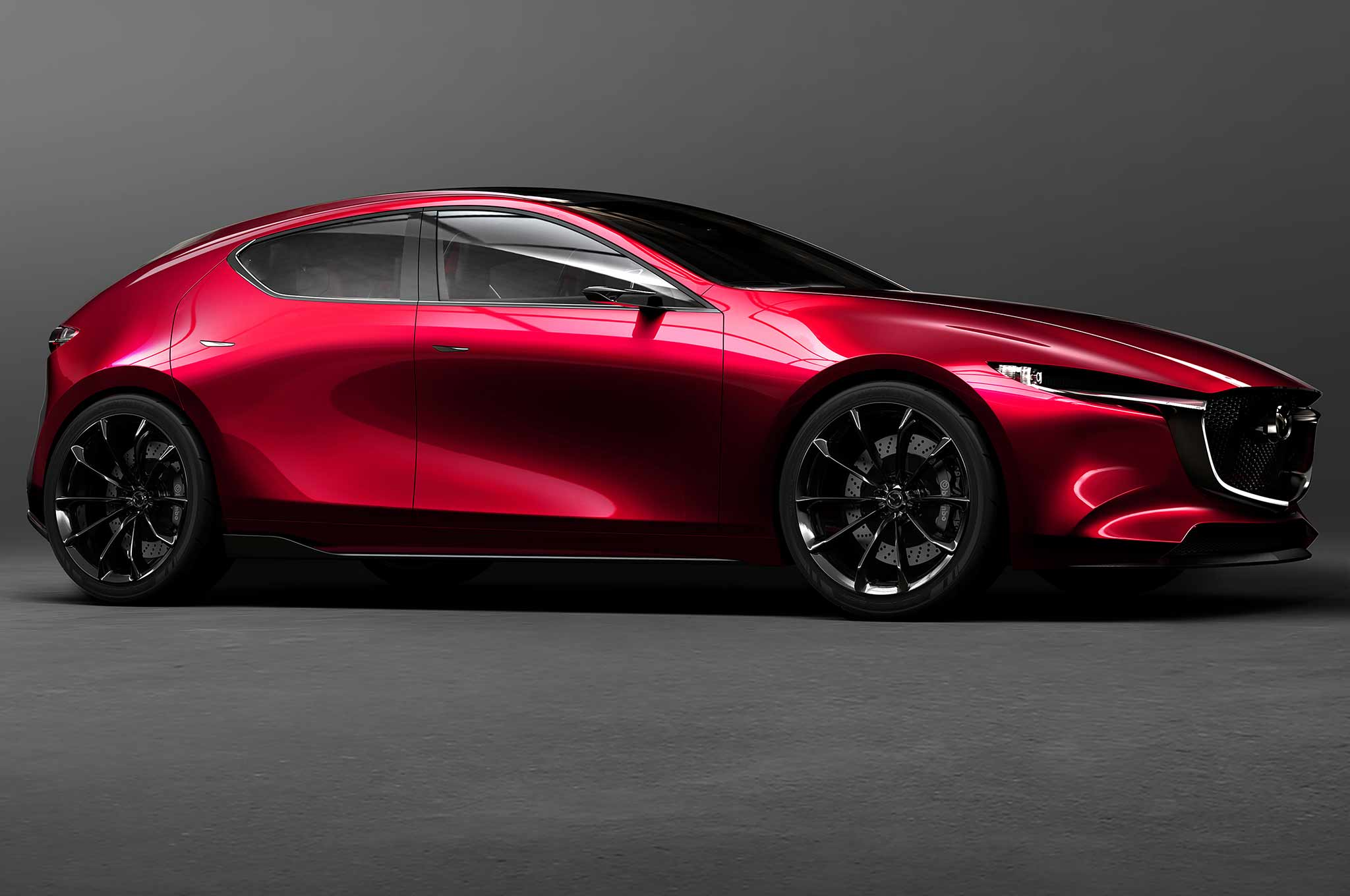Mazda Kai Concept Front Three Quarter Crop