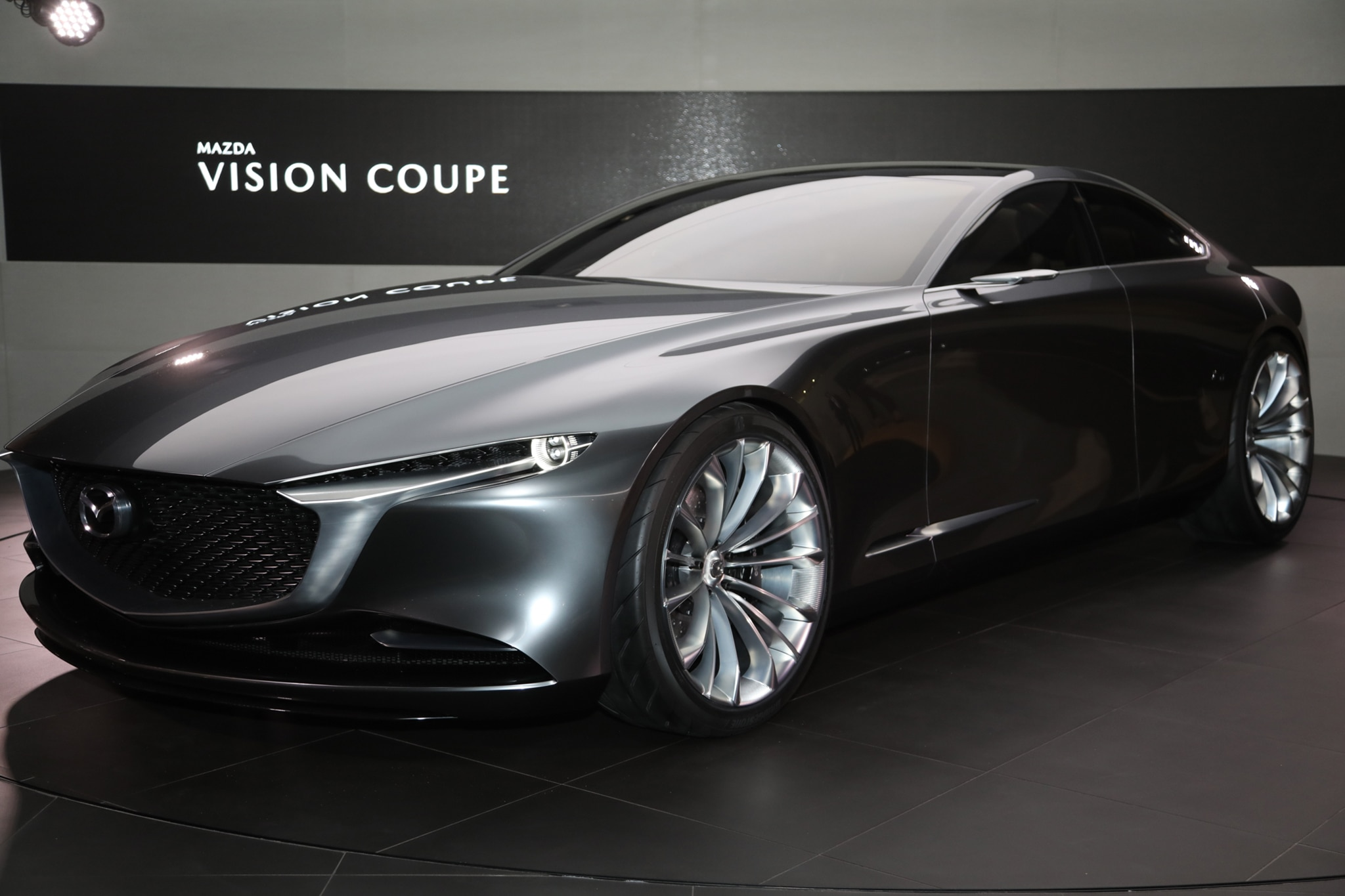 Mazda Vision Coupe Concept Rear Three Quarter 04