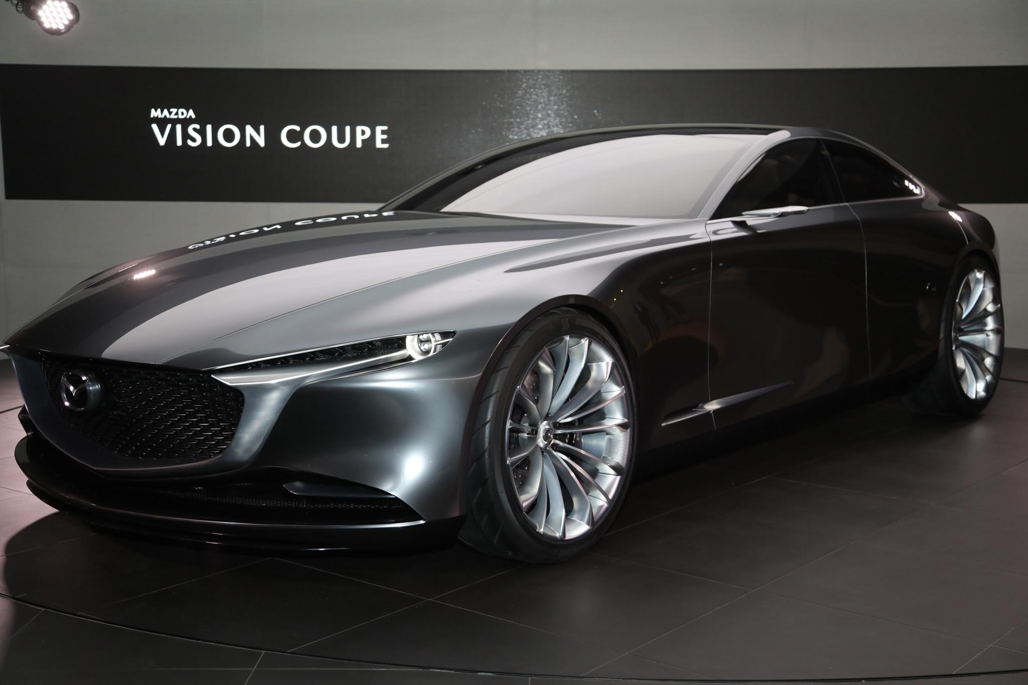 Mazda Vision Coupe Concept Rear Three Quarter 04