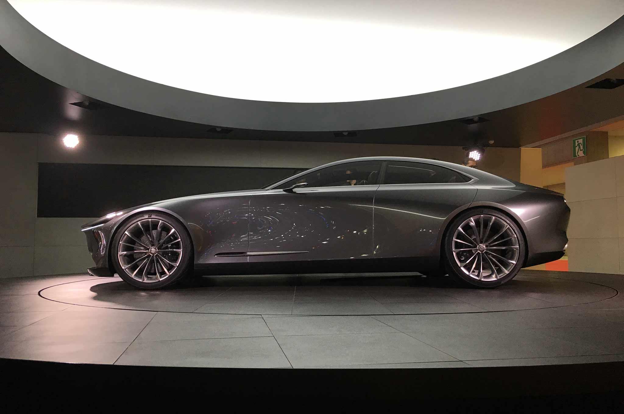 Mazda Vision Coupe concept deslumbra en Tokio - Motor ...