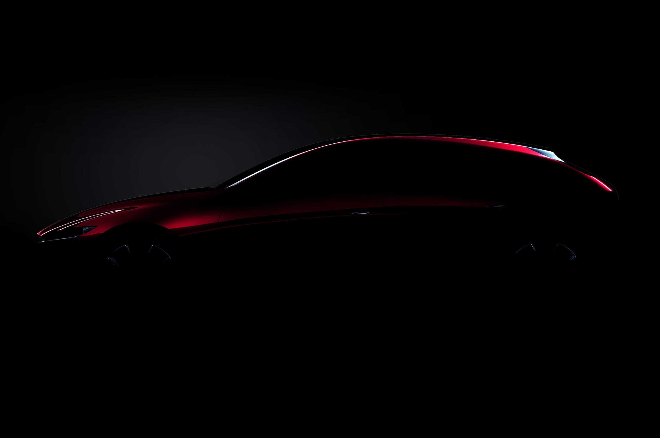 Next Generation Mazda3 Concept Side