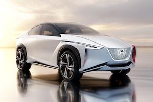 Nissan IMX Concept Front Three Quarter 02