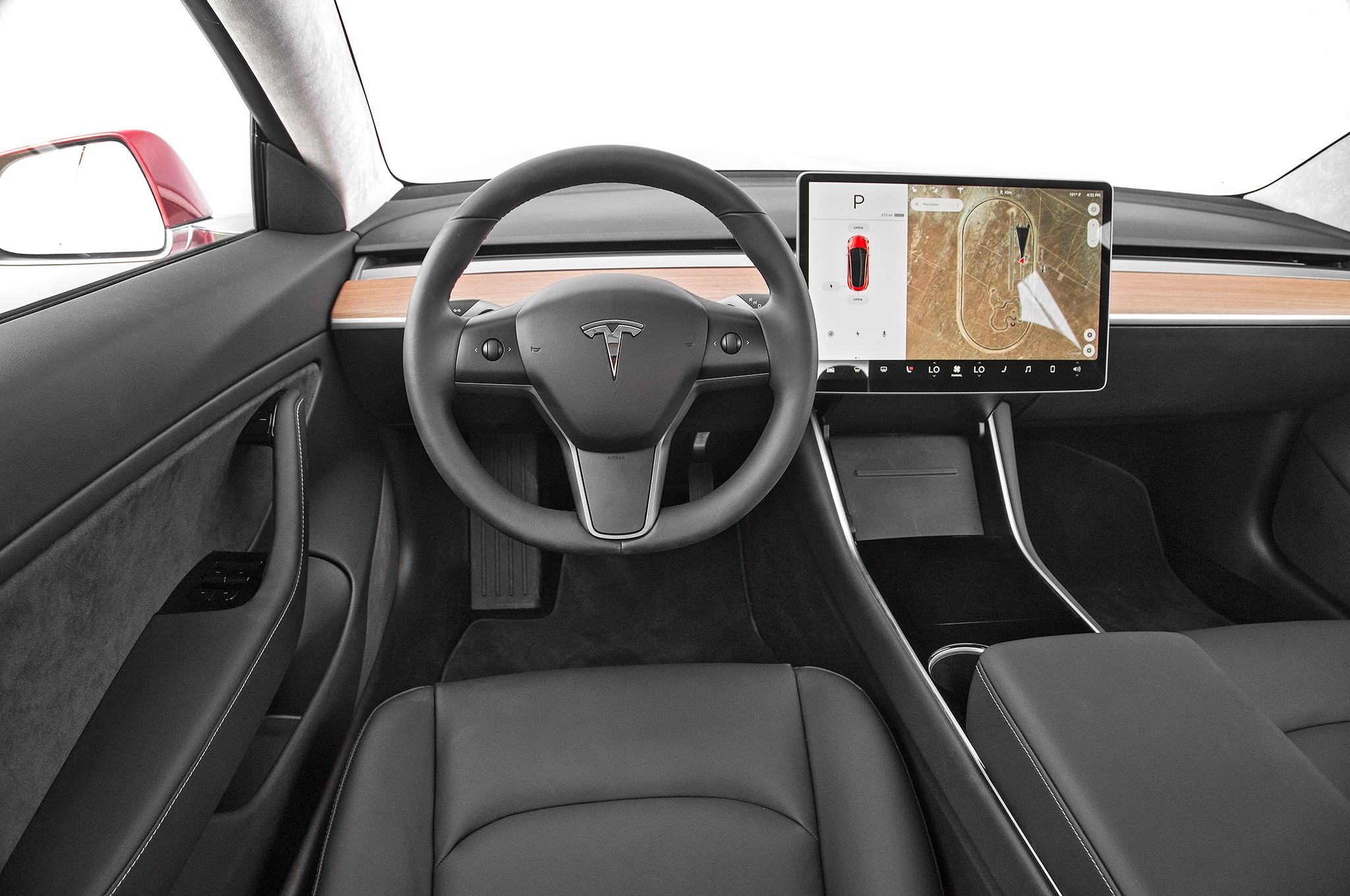 2017 Tesla Model 3 Dashboard 22 Noviembre Miguel Cortina