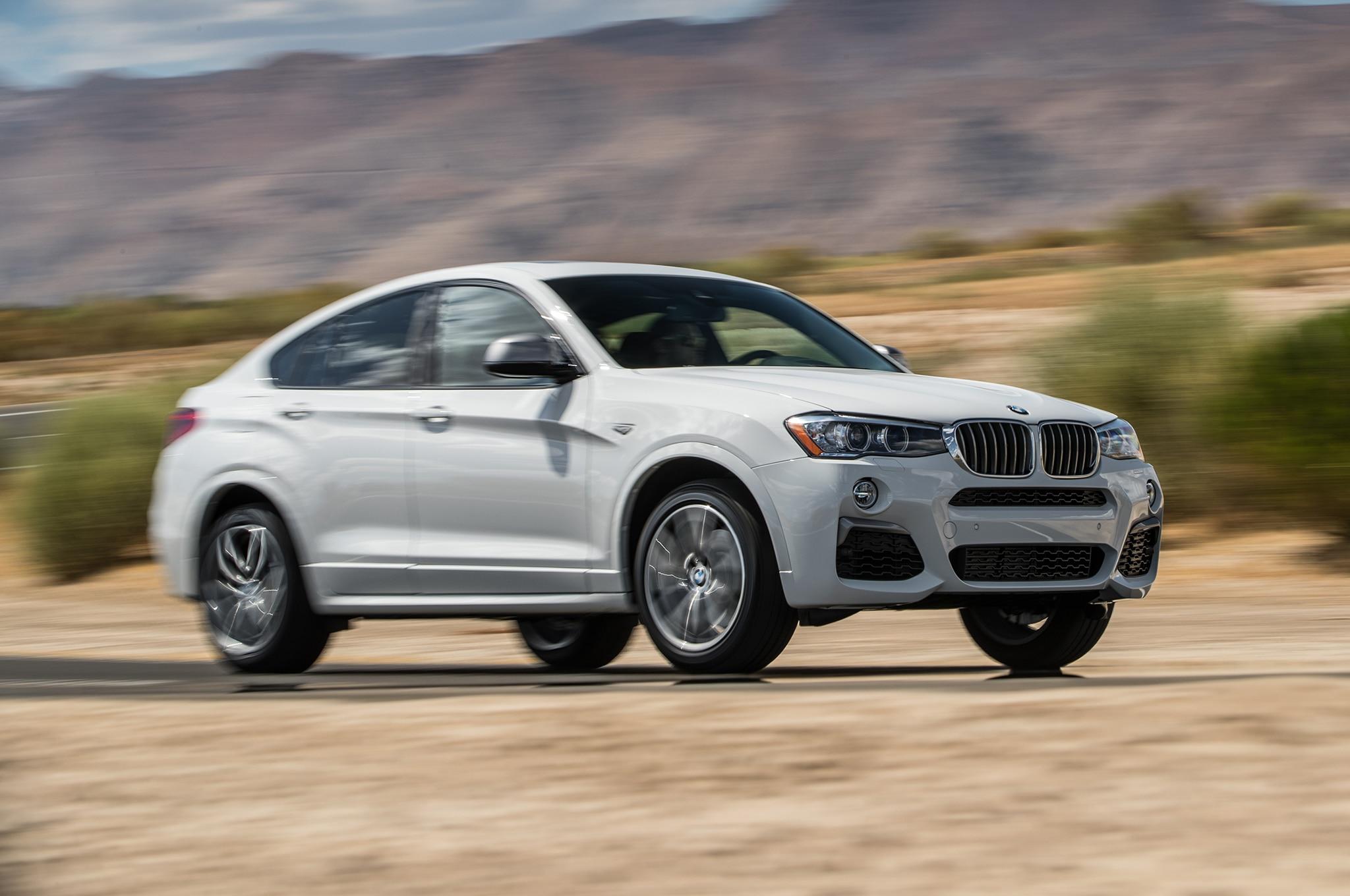 2018 BMW X4 M40i Front Three Quarter In Motion