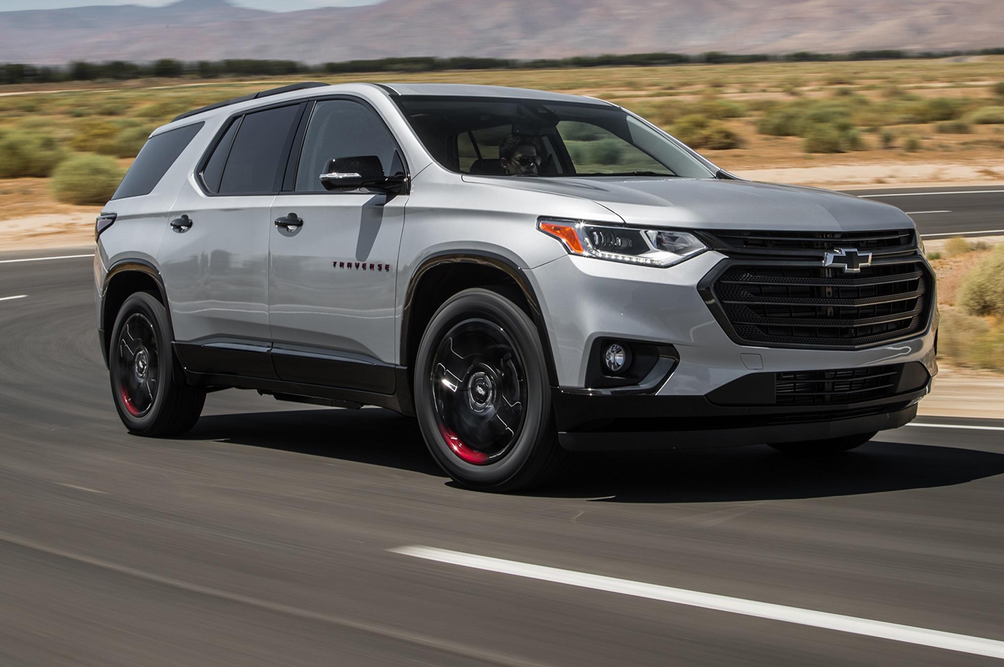 Chevrolet Traverse: Finalista a la SUV del Año de Motor ...