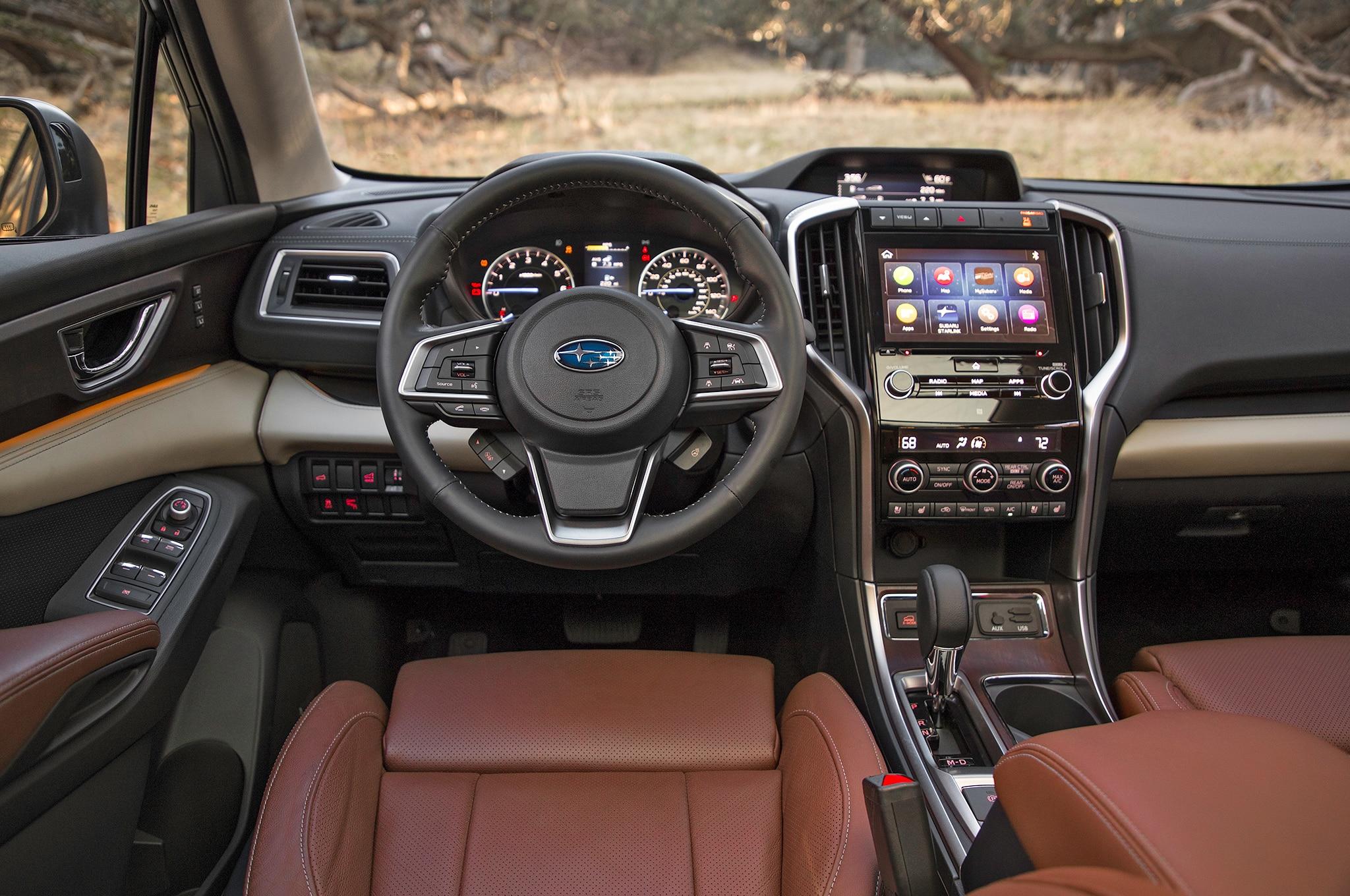 2019 Subaru Ascent Steering Wheel Motor Trend En Espa 241 Ol