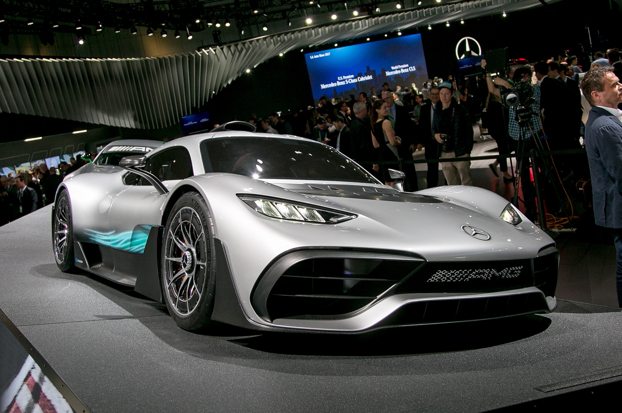 Mercedes AMG Project One Front Three Quarter
