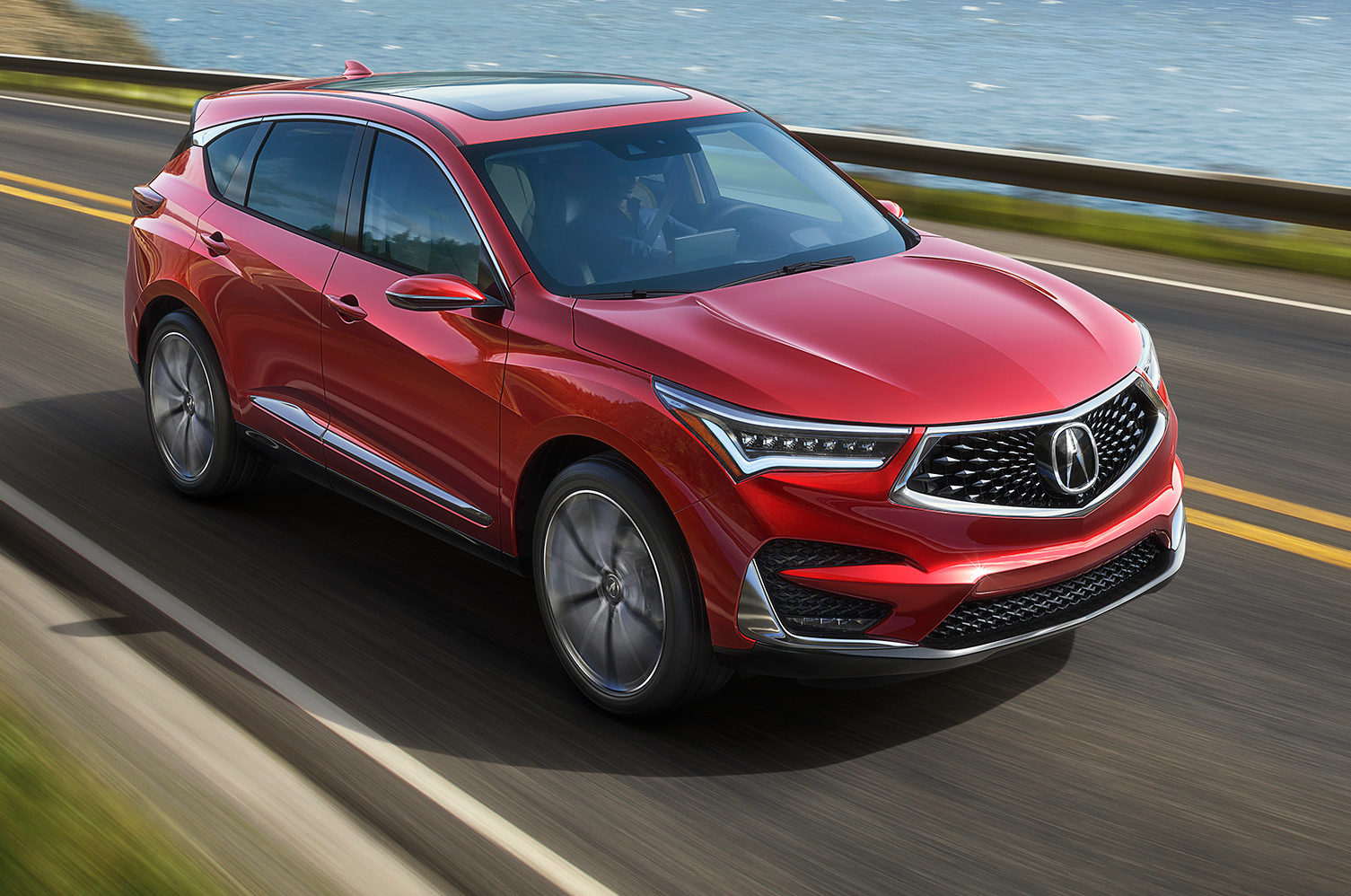 2019 Acura RDX Prototype Front Three Quarter In Motion E1515798823726