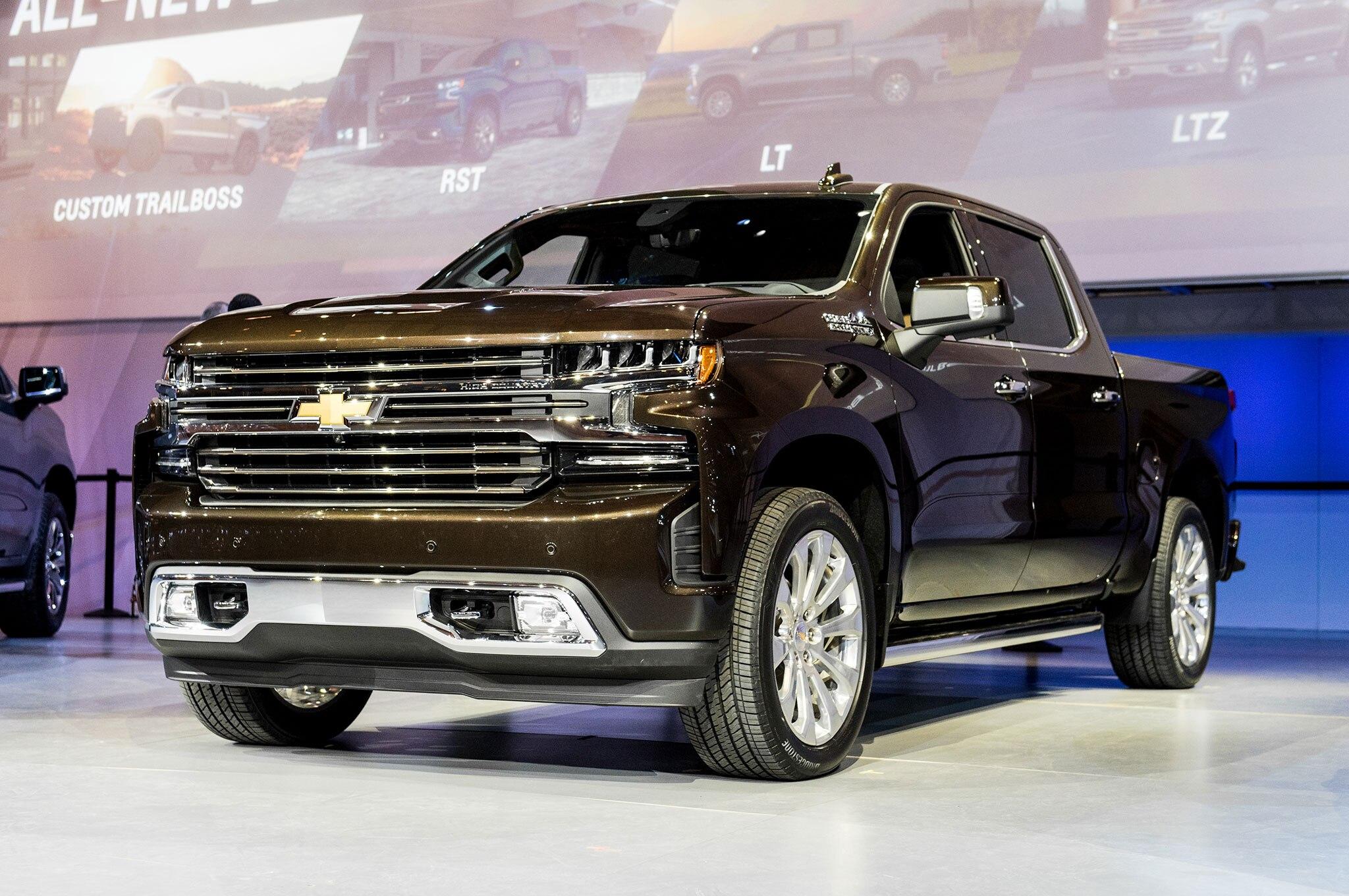Motor diésel de Chevrolet Silverado 2019 será producido en ...