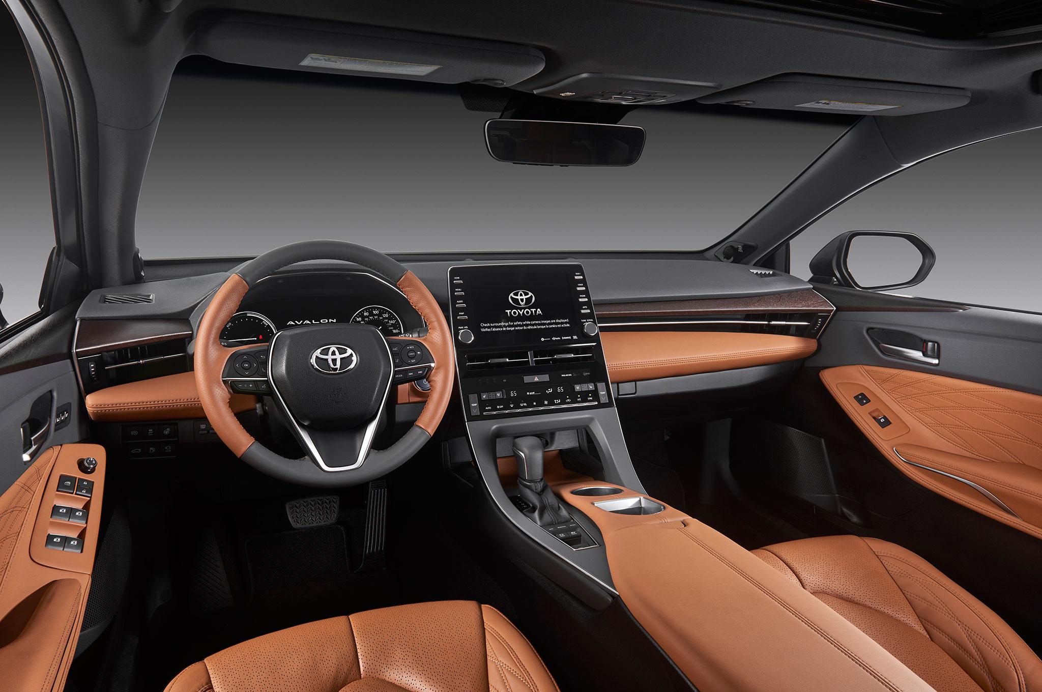 2019 toyota avalon limited hybrid interior