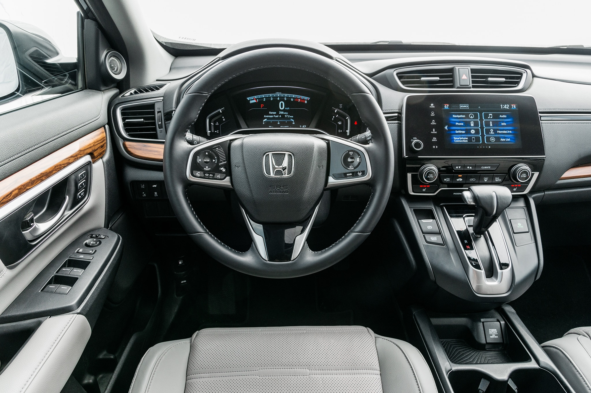 2017 Honda Cr V Touring Awd Front Interior Drivers Side Motor