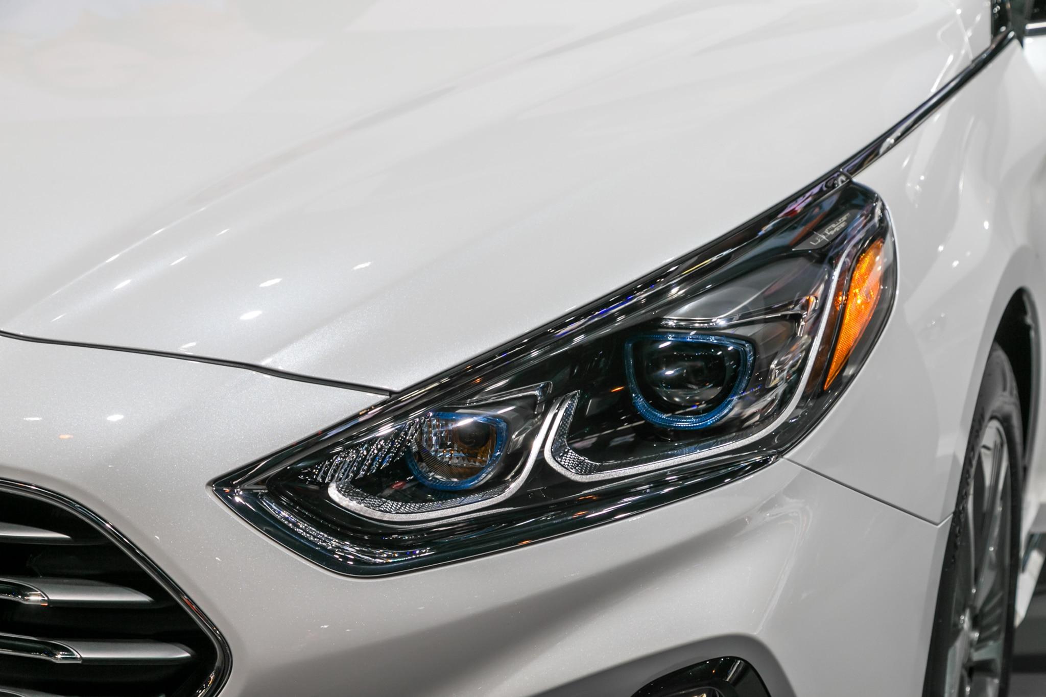 2018 Hyundai Sonata Hybrid Headlamp 8 Febrero Miguel Cortina