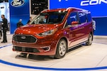 2019 Ford Transit Connect Wagon Front Side View