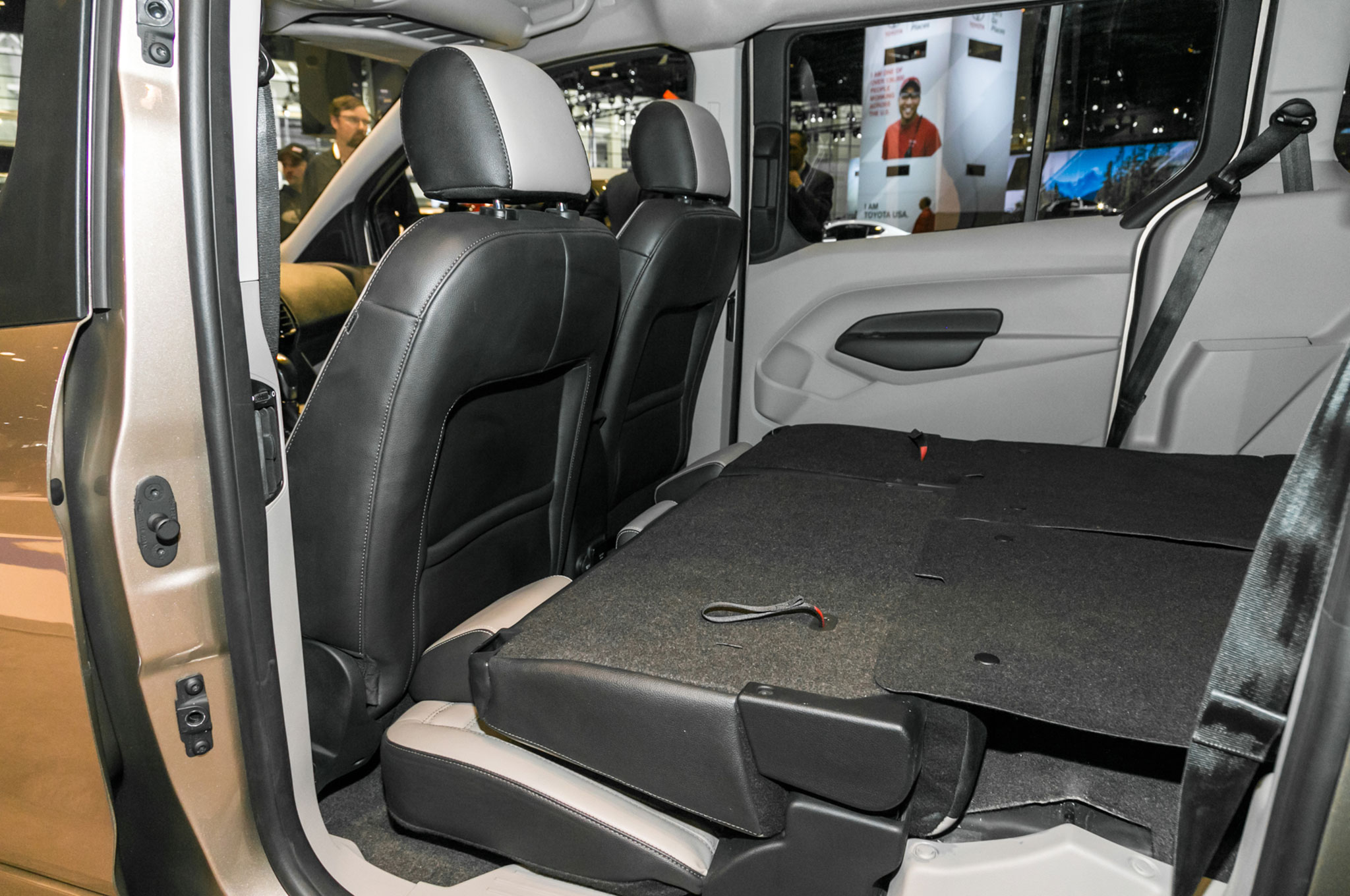 2019 Ford Transit Connect Wagon interior second row seats ...