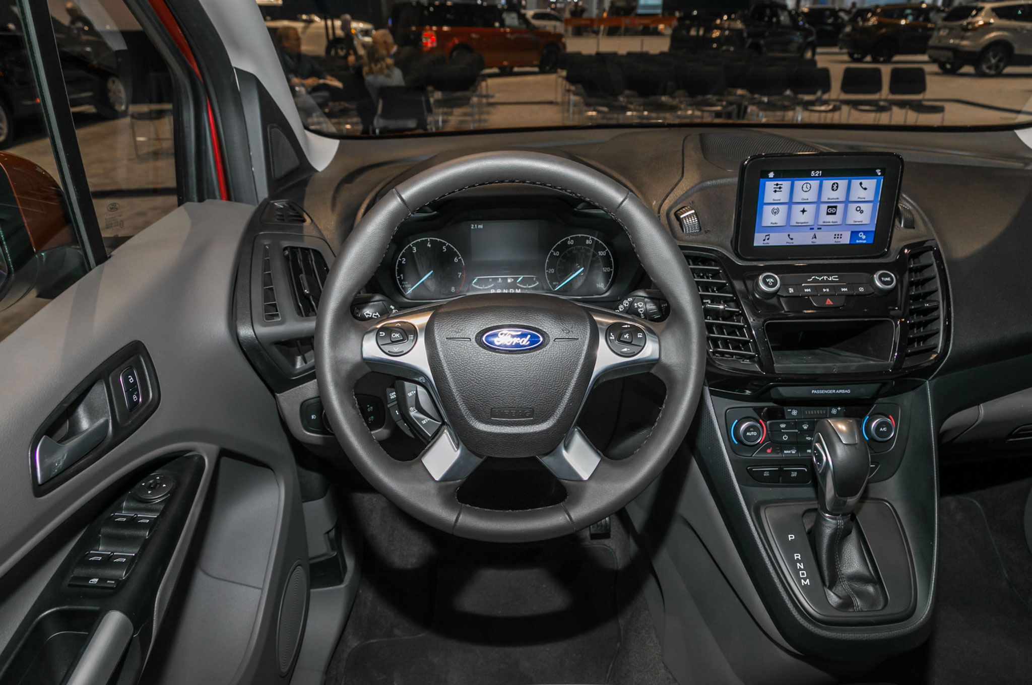 Ford Transit Connect Wagon 2019 Primer Vistazo Motor