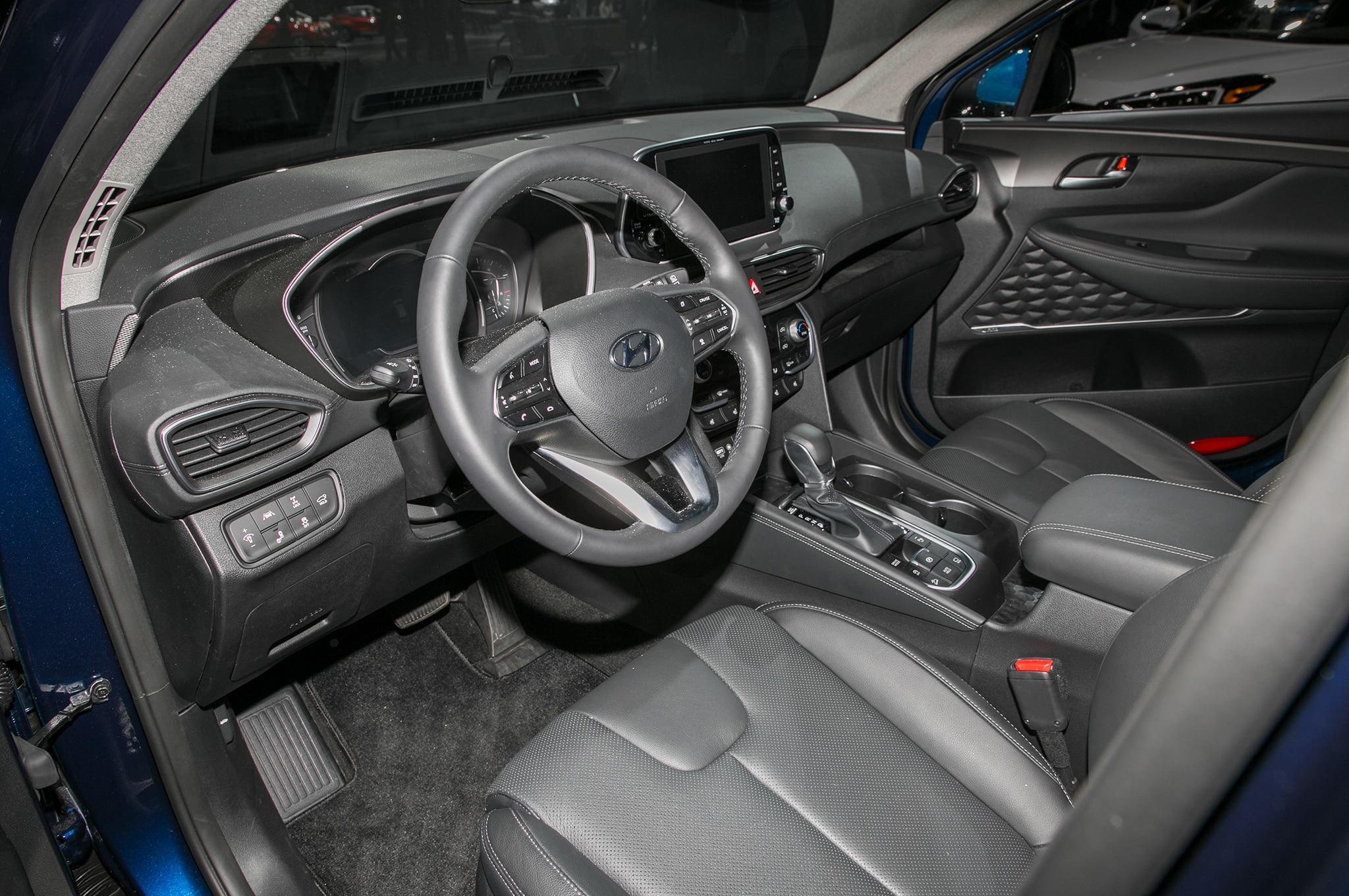 2019 Hyundai Santa Fe Front Interior Drivers Side Motor