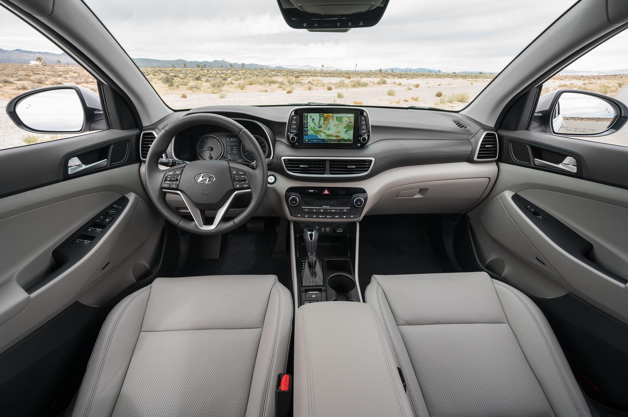 2019 Hyundai Tucson Dashboard 01 Motor Trend En Espa 241 Ol