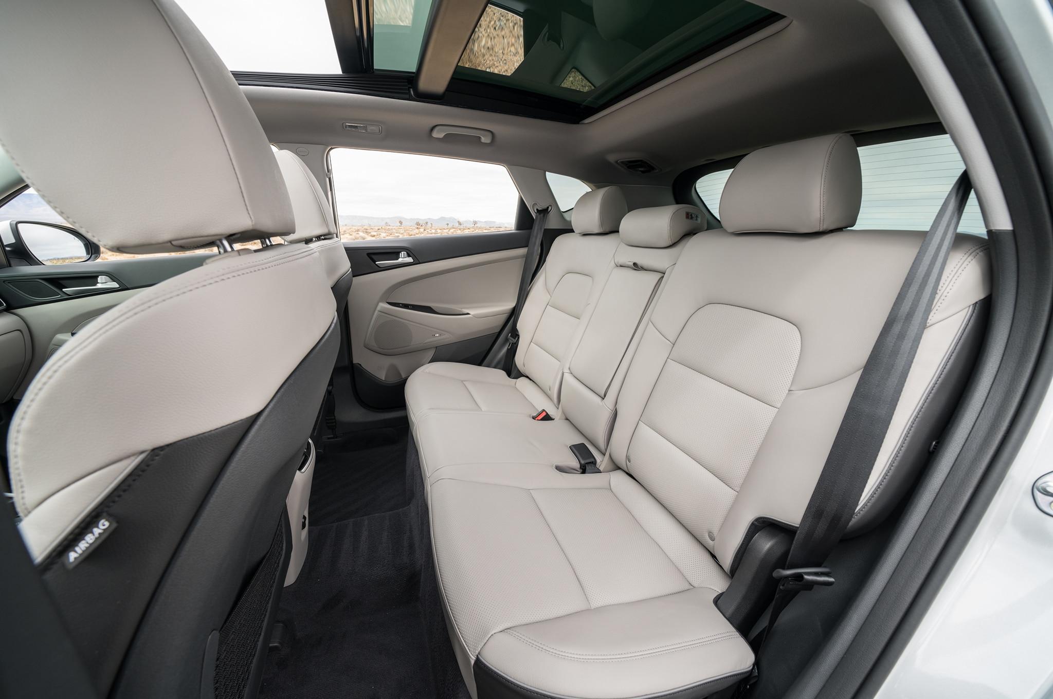 2019 Hyundai Tucson rear interior seats 03 - Motor Trend ...