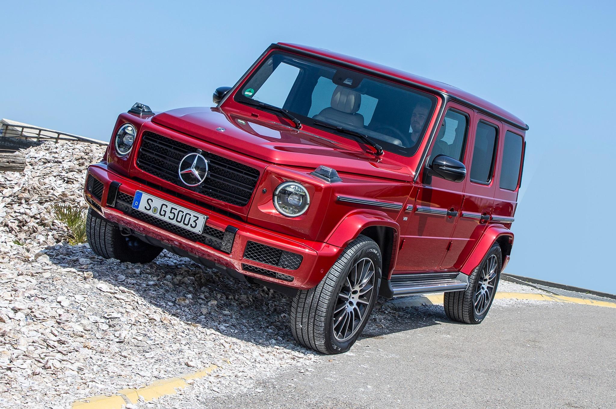 2019 Mercedes Benz G 550 European Spec On Rocks