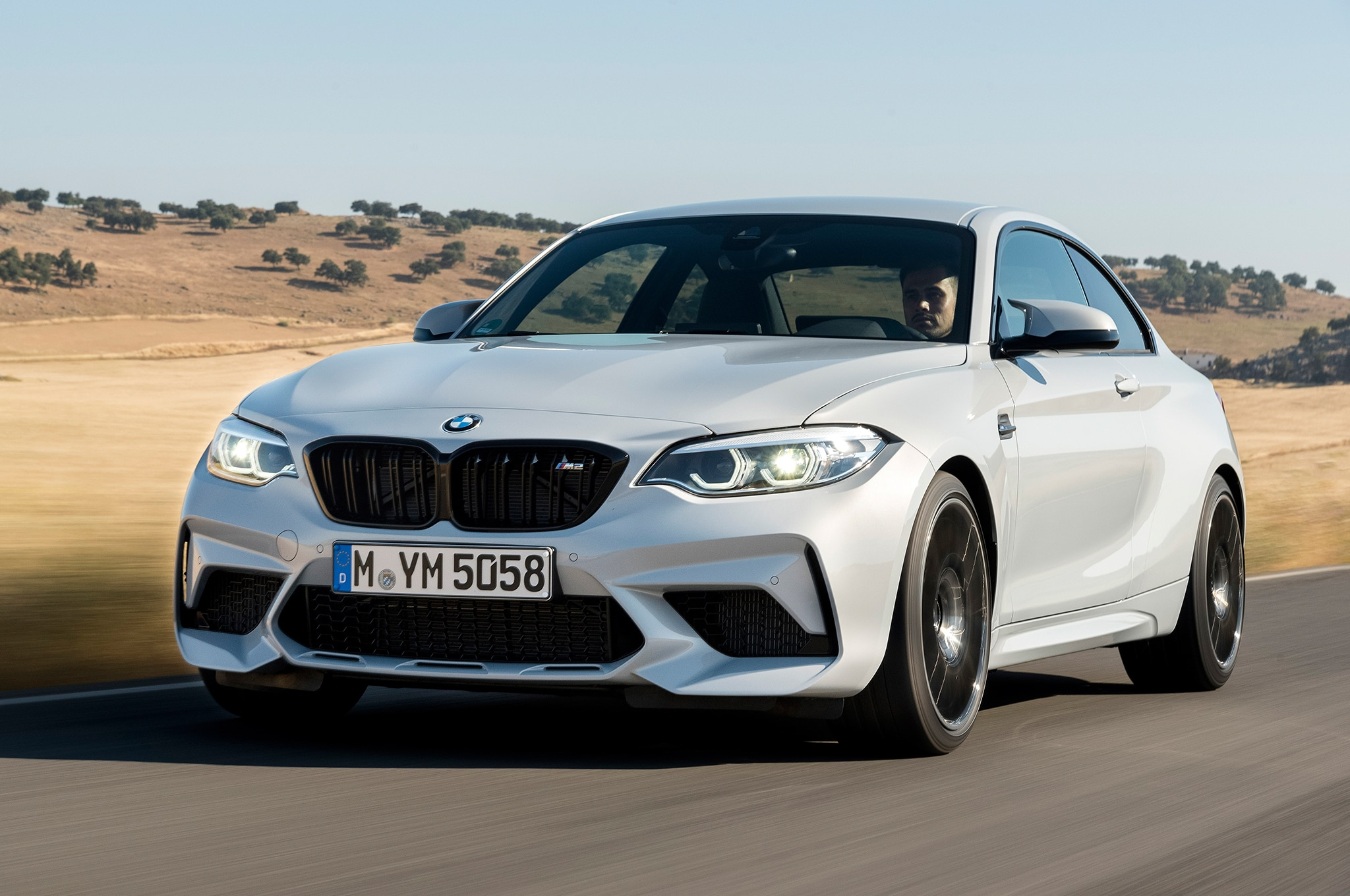 2019 BMW M2 Competition Front Three Quarter In Motion 31