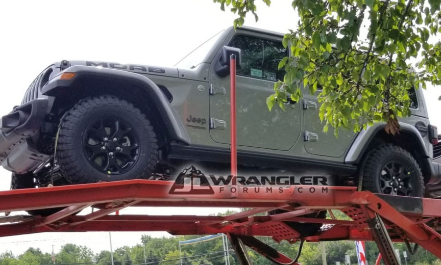 Jeep Wrangler JL Possible Special Edition