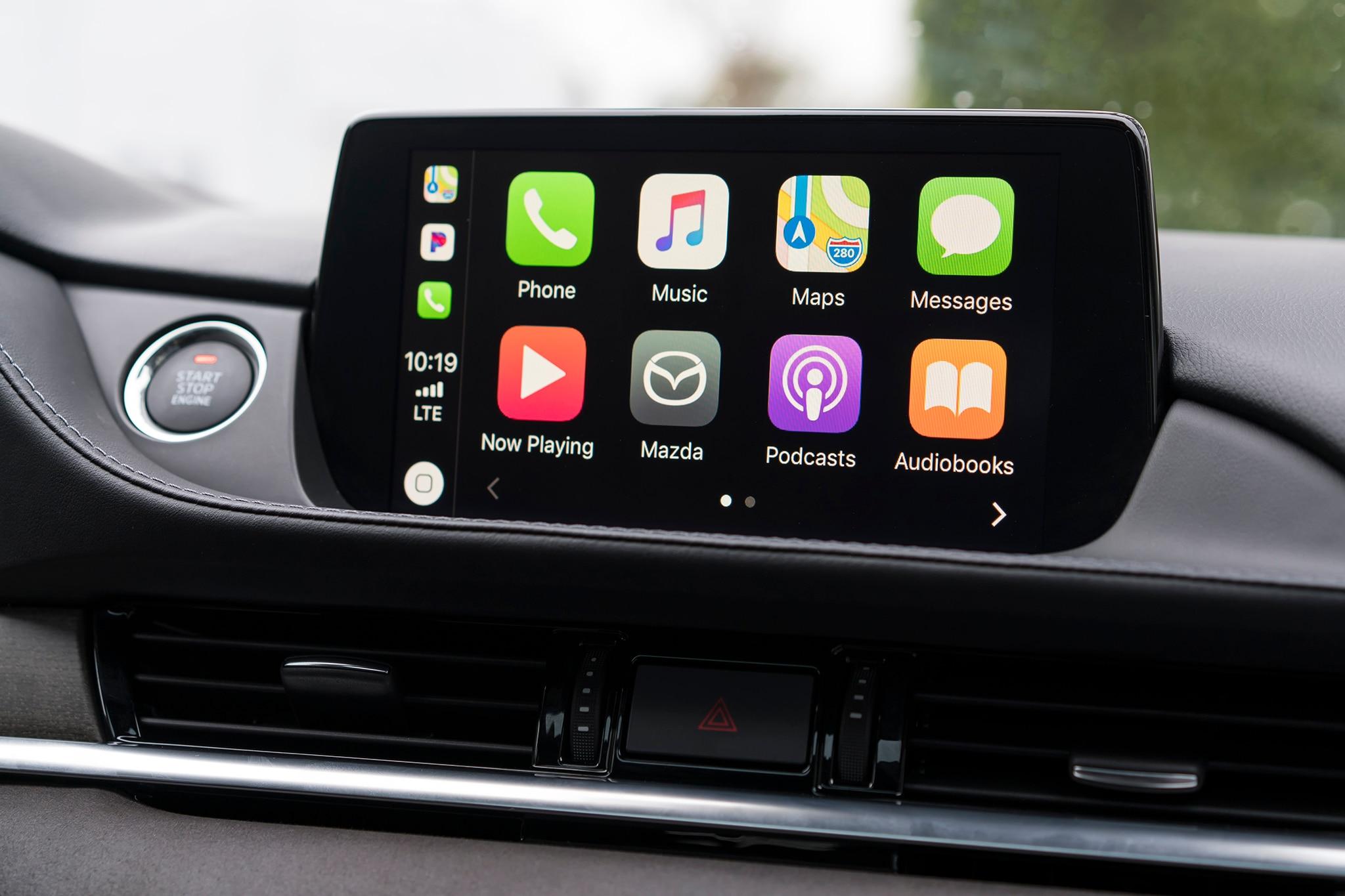 Mazda CarPlay